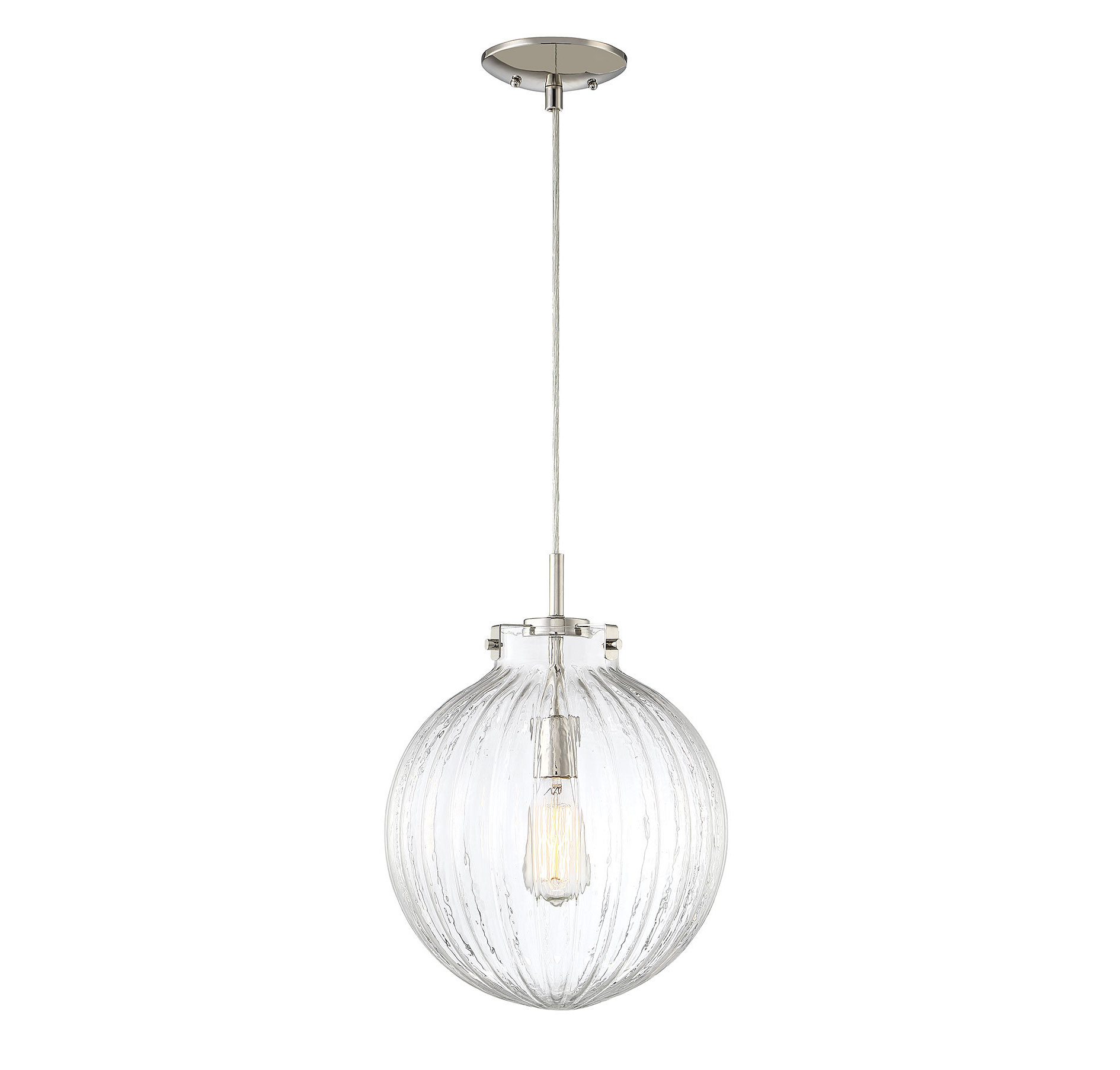 Nevels 1 Light Single Globe Pendant With Regard To Most Popular Gehry 1 Light Single Globe Pendants (View 11 of 25)