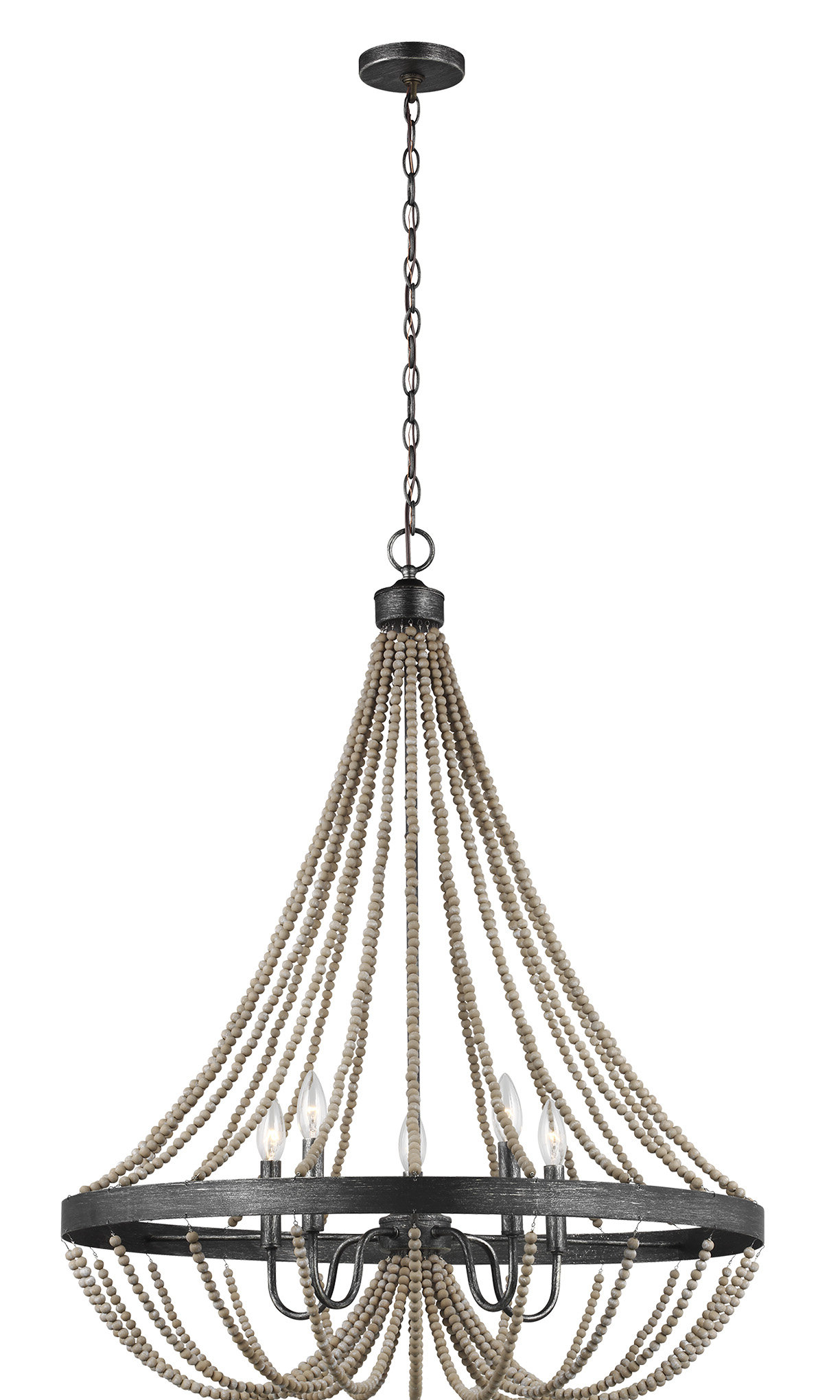 New Braunfels 5 Light Empire Chandelier In Well Known Ladonna 5 Light Novelty Chandeliers (View 4 of 25)