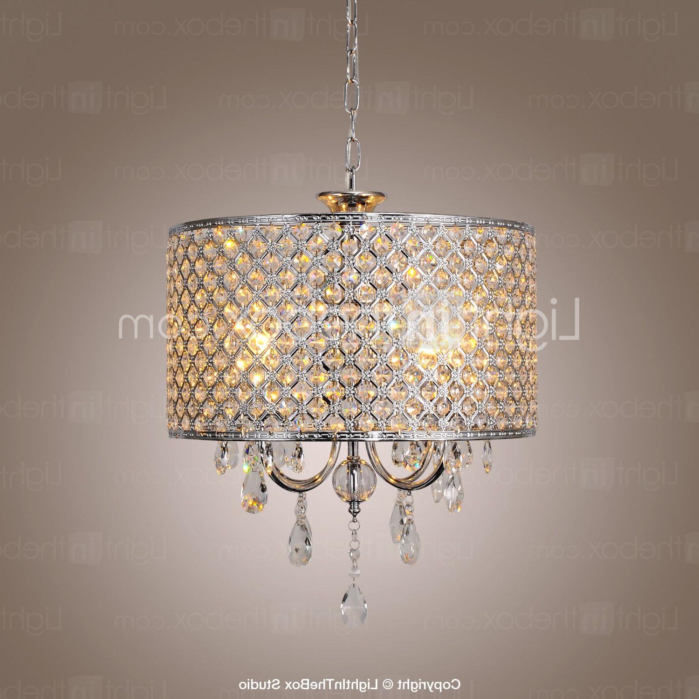 New regarding Popular Aldgate 4-Light Crystal Chandeliers