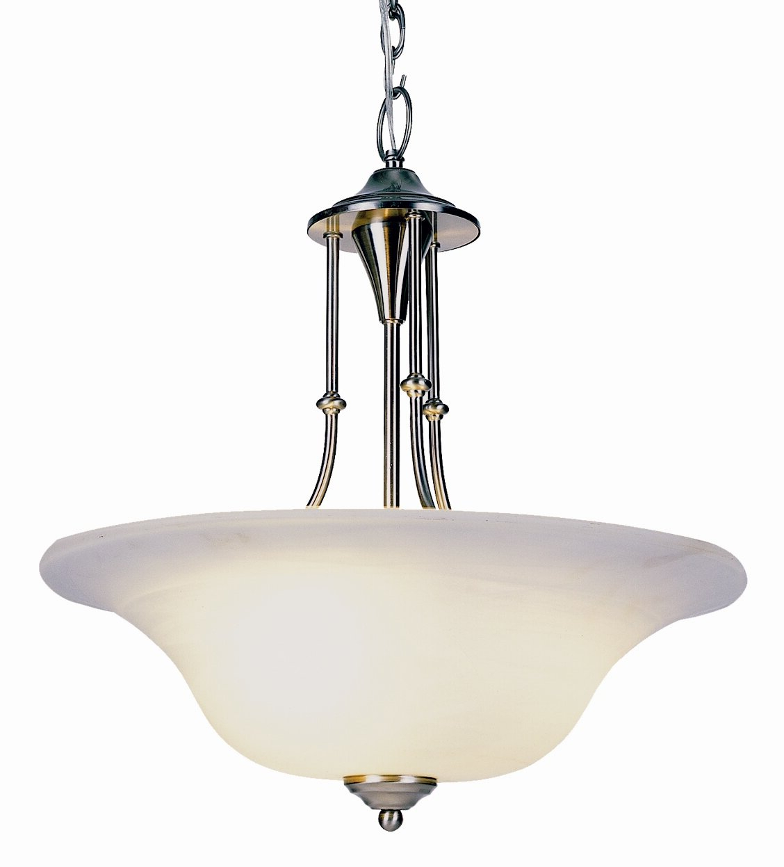 Newent 3 Light Bowl Pendant Regarding Latest Newent 3 Light Single Bowl Pendants (View 12 of 25)