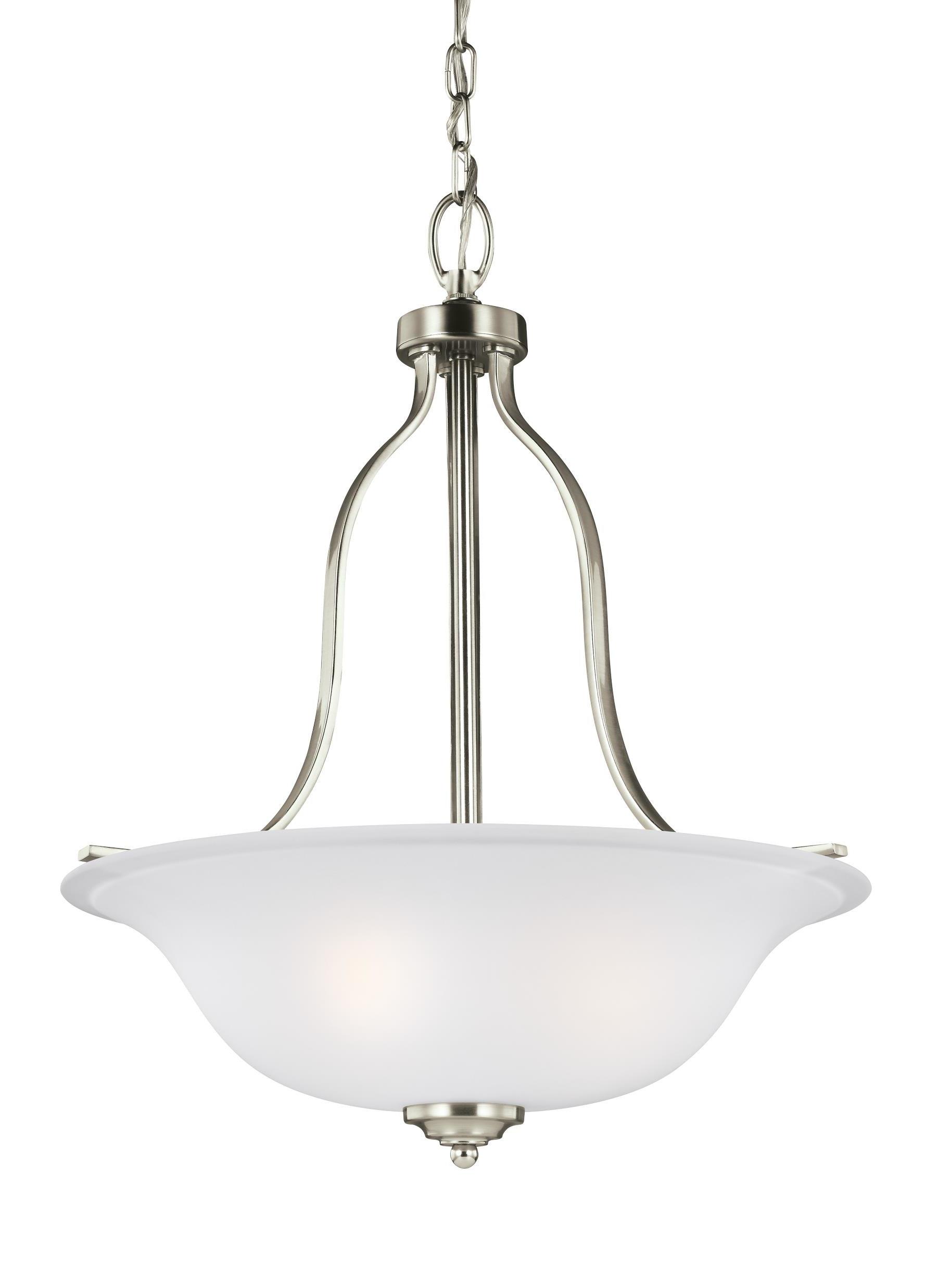 Newent 3 Light Single Bowl Pendants Regarding Favorite Burhall 3 Light Bowl Pendant (View 20 of 25)