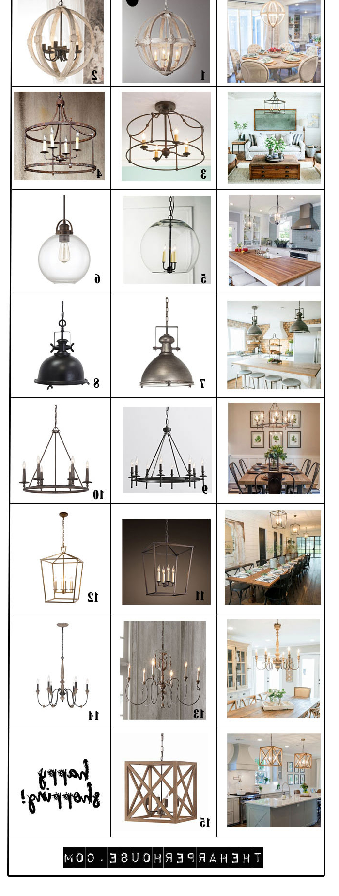 Newest Favorite Light Fixtures For Fixer Upper Style (View 21 of 25)