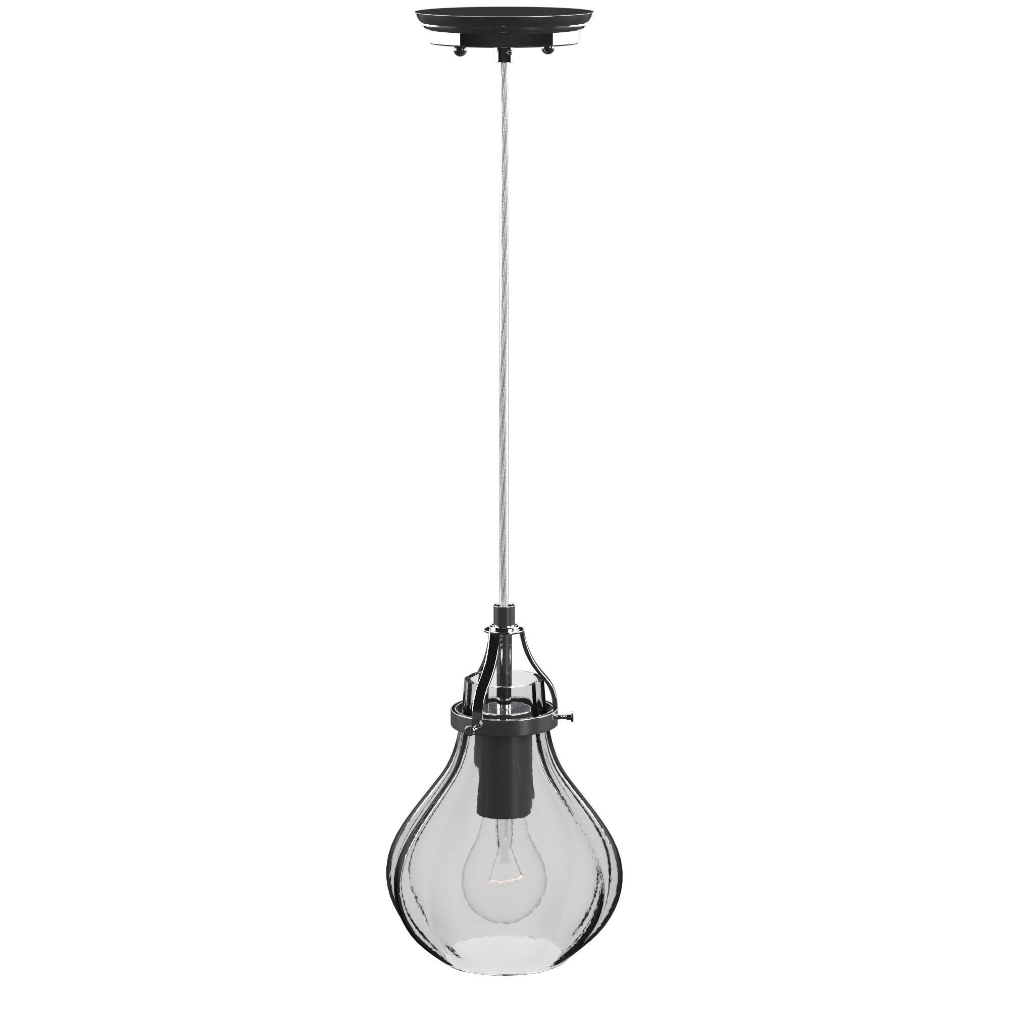 Newest Giacinta 1-Light Single Bell Pendants with Orofino 1-Light Single Teardrop Pendant