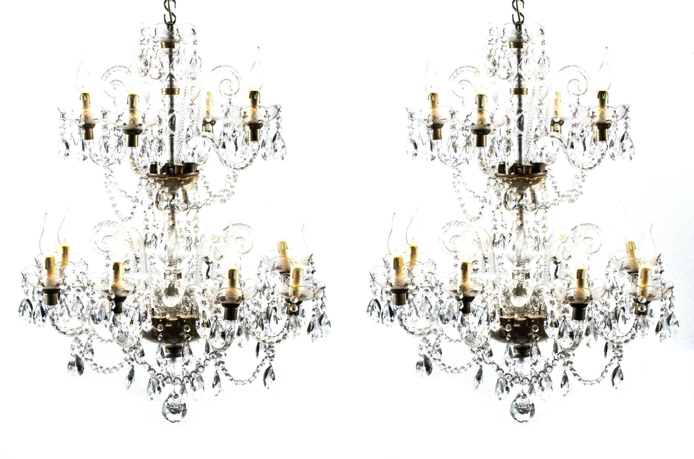 Newest Mcknight 9 Light Crystal Chandelier Artin Dudley Modern pertaining to Mcknight 9-Light Chandeliers