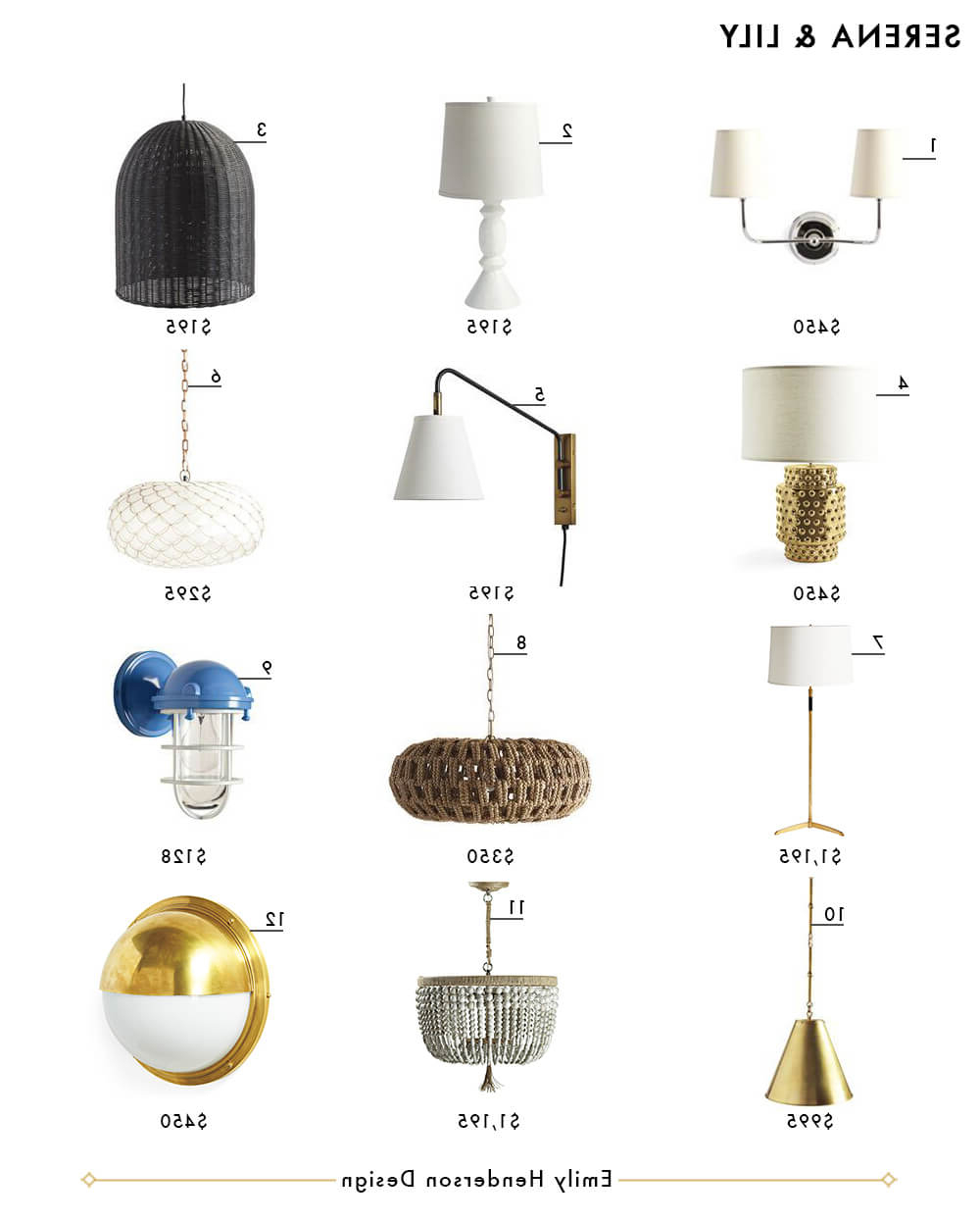Newest My Favorite 37 Online Lighting Resources – Emily Henderson Inside Jayce 1 Light Cylinder Pendants (View 16 of 25)