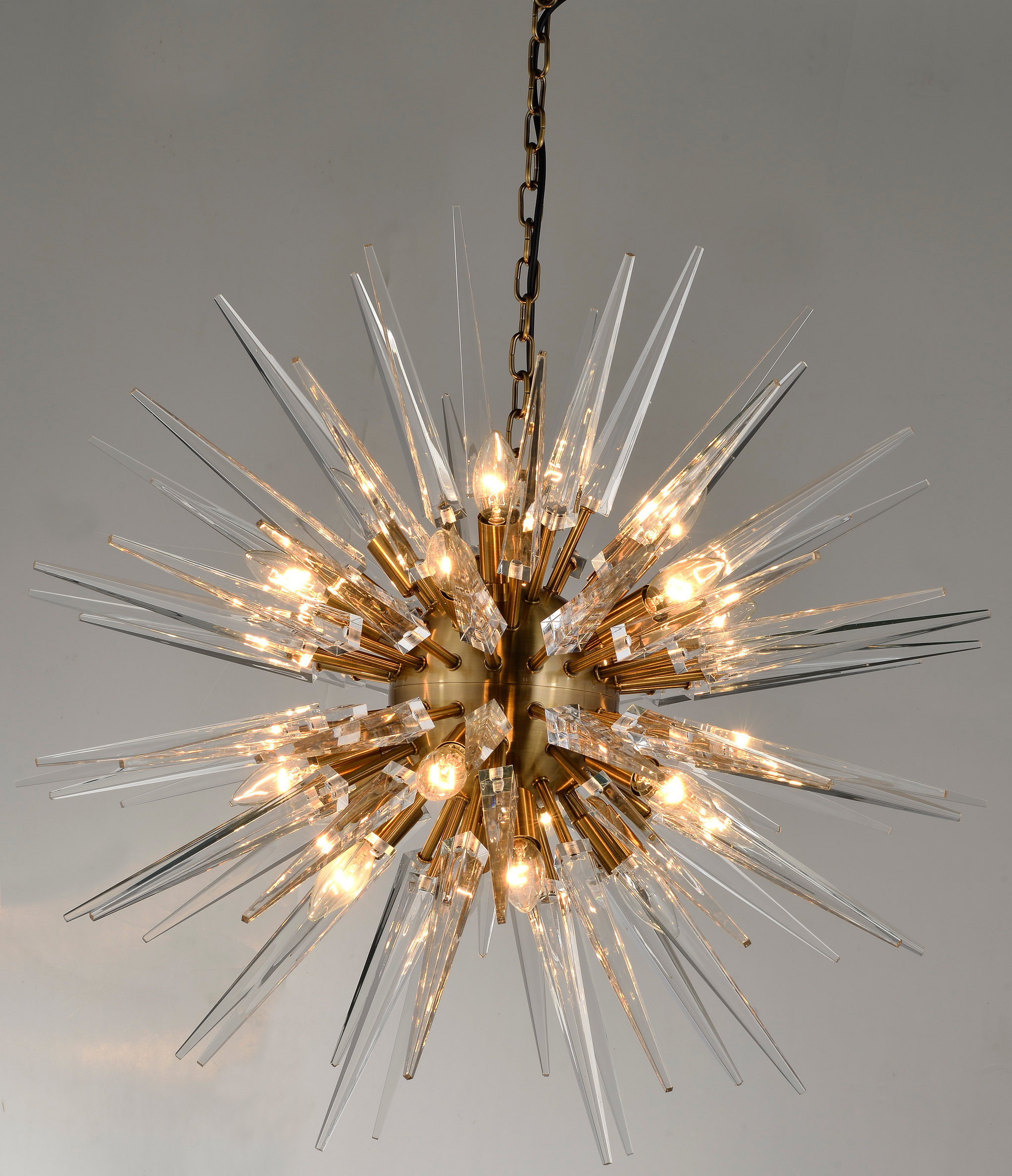 Newest Nelly 12 Light Sputnik Chandeliers For Lundeen 20 Light Sputnik Chandelier (View 20 of 25)