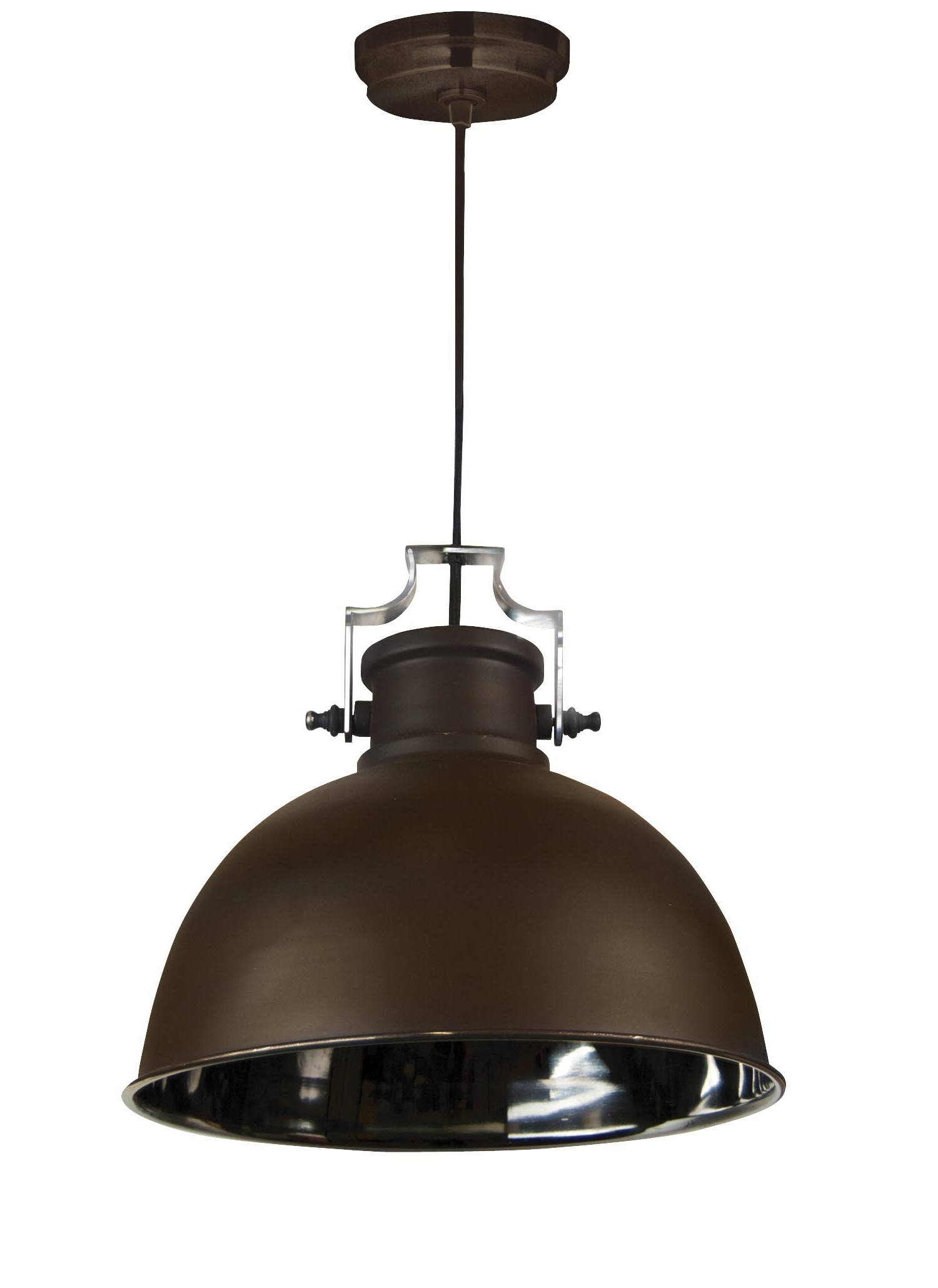 Ninette 1-Light Dome Pendants intended for Best and Newest Shaeffer 1-Light Dome Pendant
