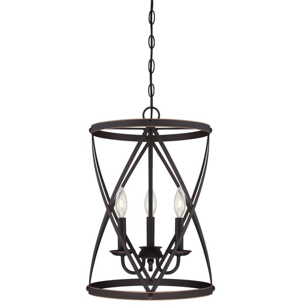 Nisbet 6-Light Lantern Geometric Pendants for Well known Gingerich 3-Light Lantern Pendant