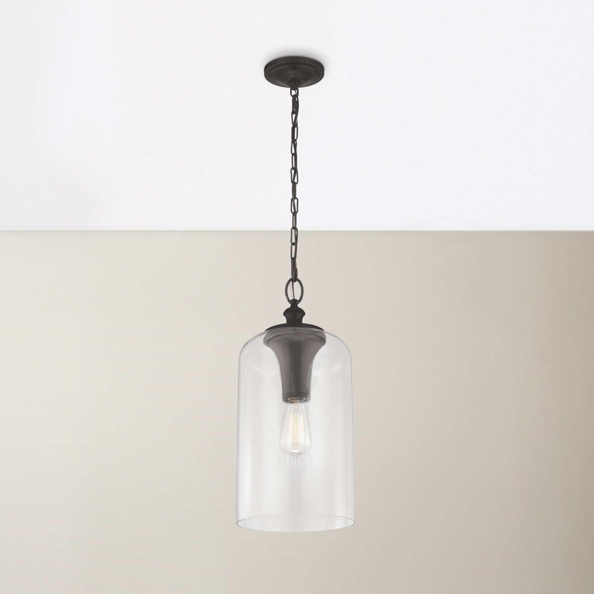 Nolan 1-Light Single Cylinder Pendant regarding Well-liked Nolan 1-Light Lantern Chandeliers