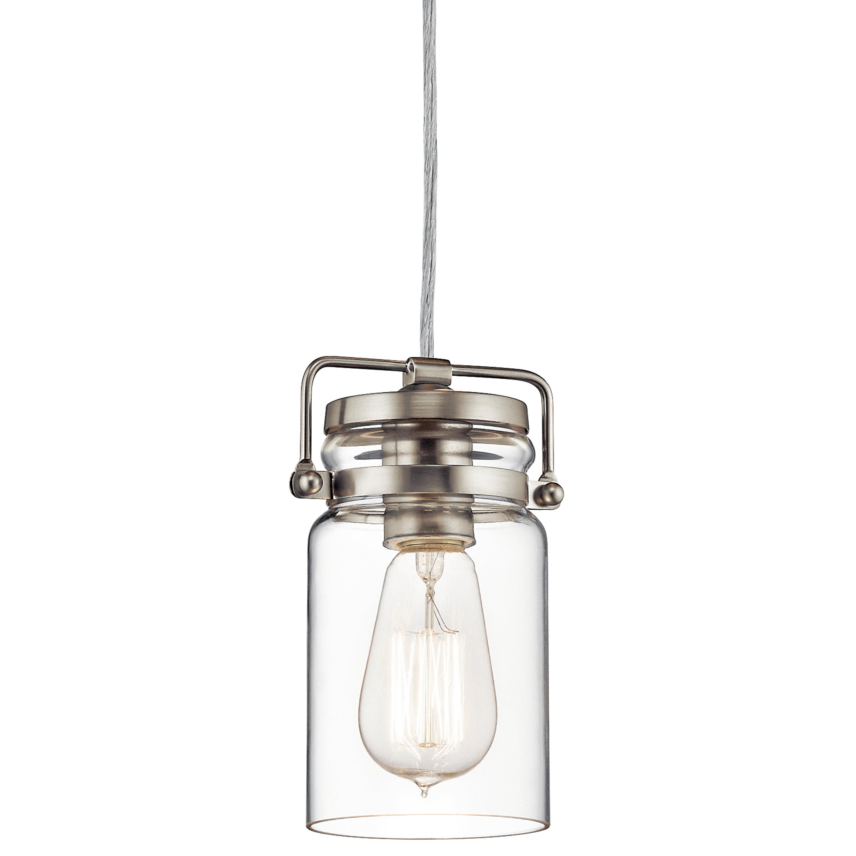 Nolan 1 Light Single Cylinder Pendants With Regard To Popular Sue 1 Light Single Jar Pendant (View 17 of 25)