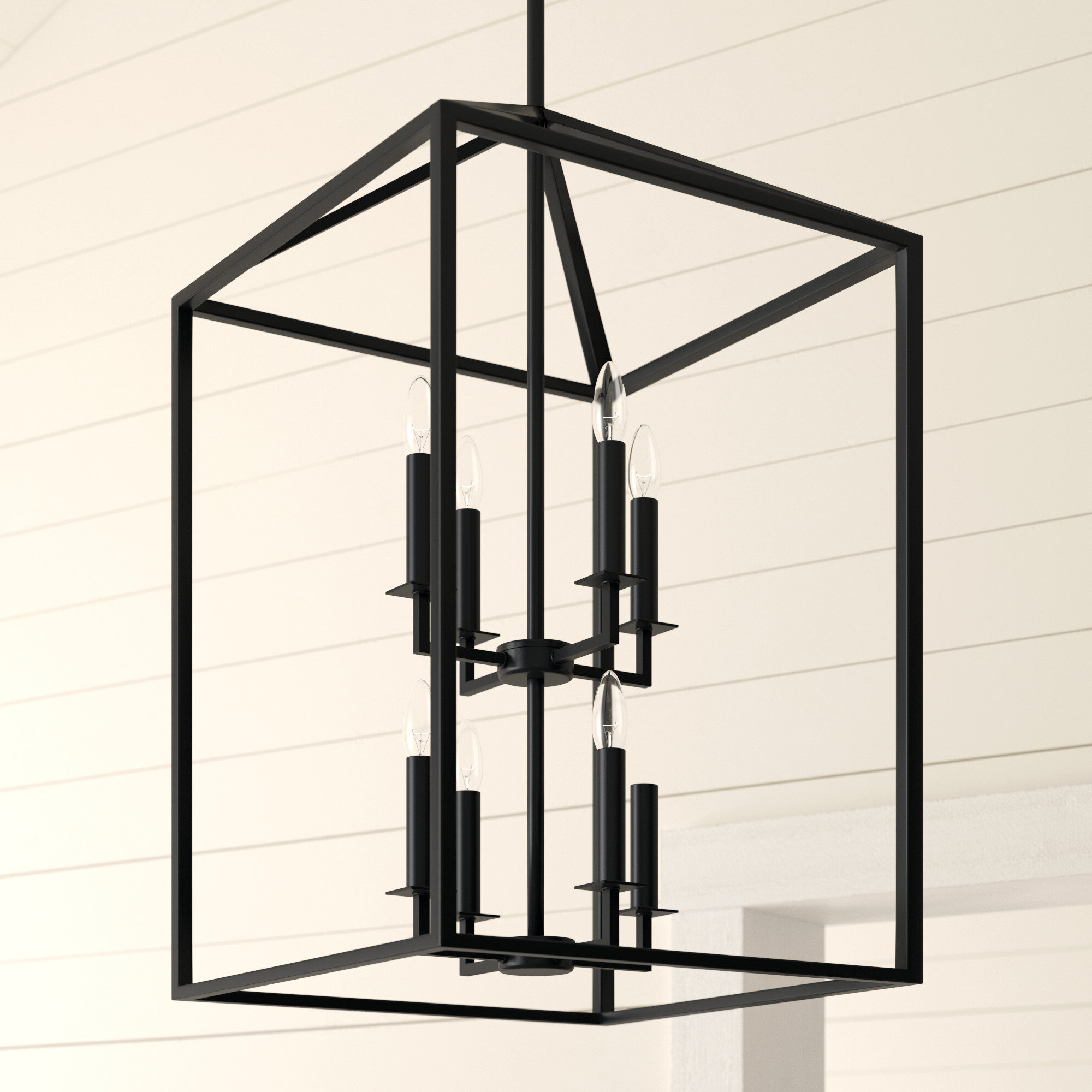 Odie 8 Light Square/rectangle Chandelier For Fashionable Odie 8 Light Lantern Square / Rectangle Pendants (View 19 of 25)