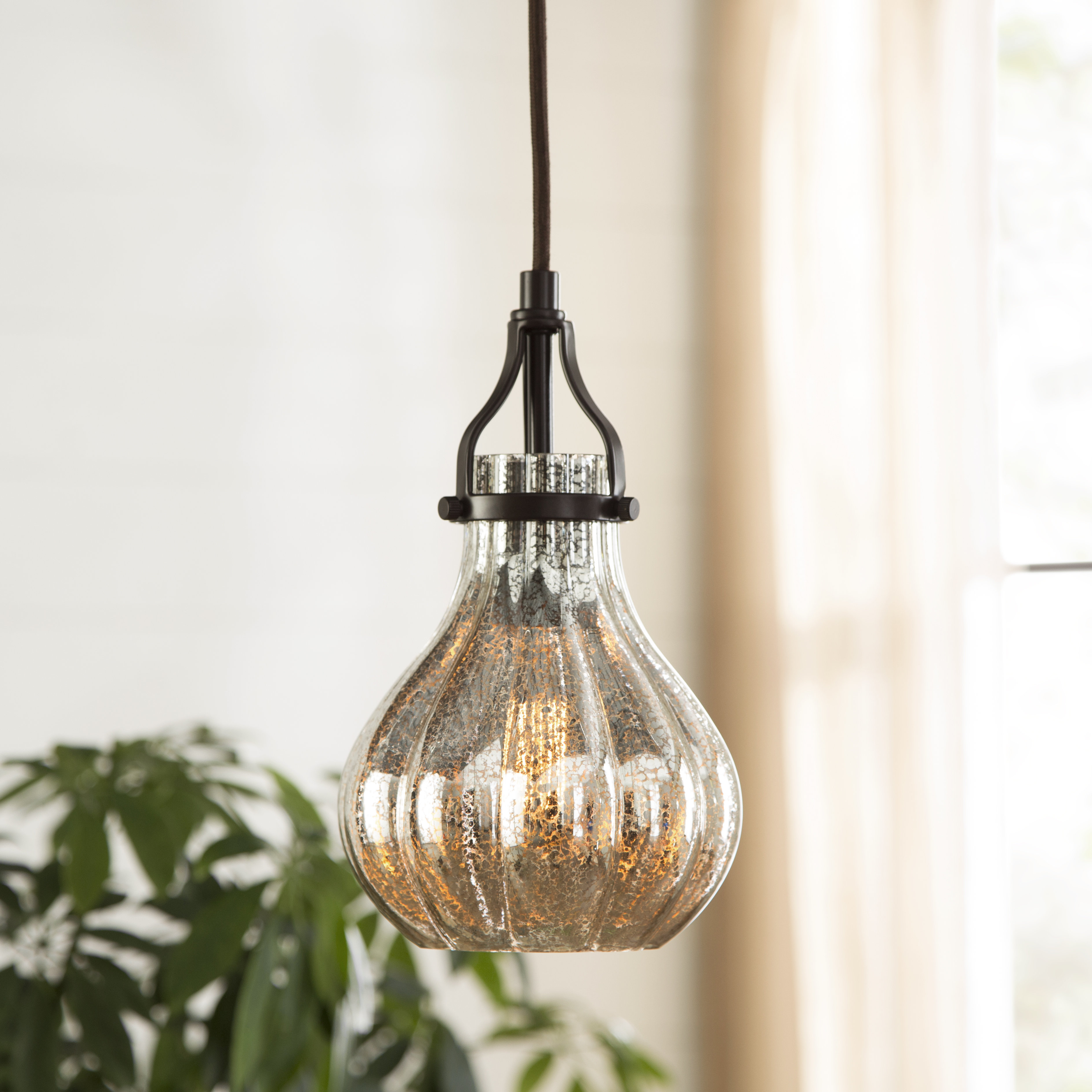 Orofino 1 Light Single Teardrop Pendant Intended For Well Liked Abordale 1 Light Single Dome Pendants (View 14 of 25)