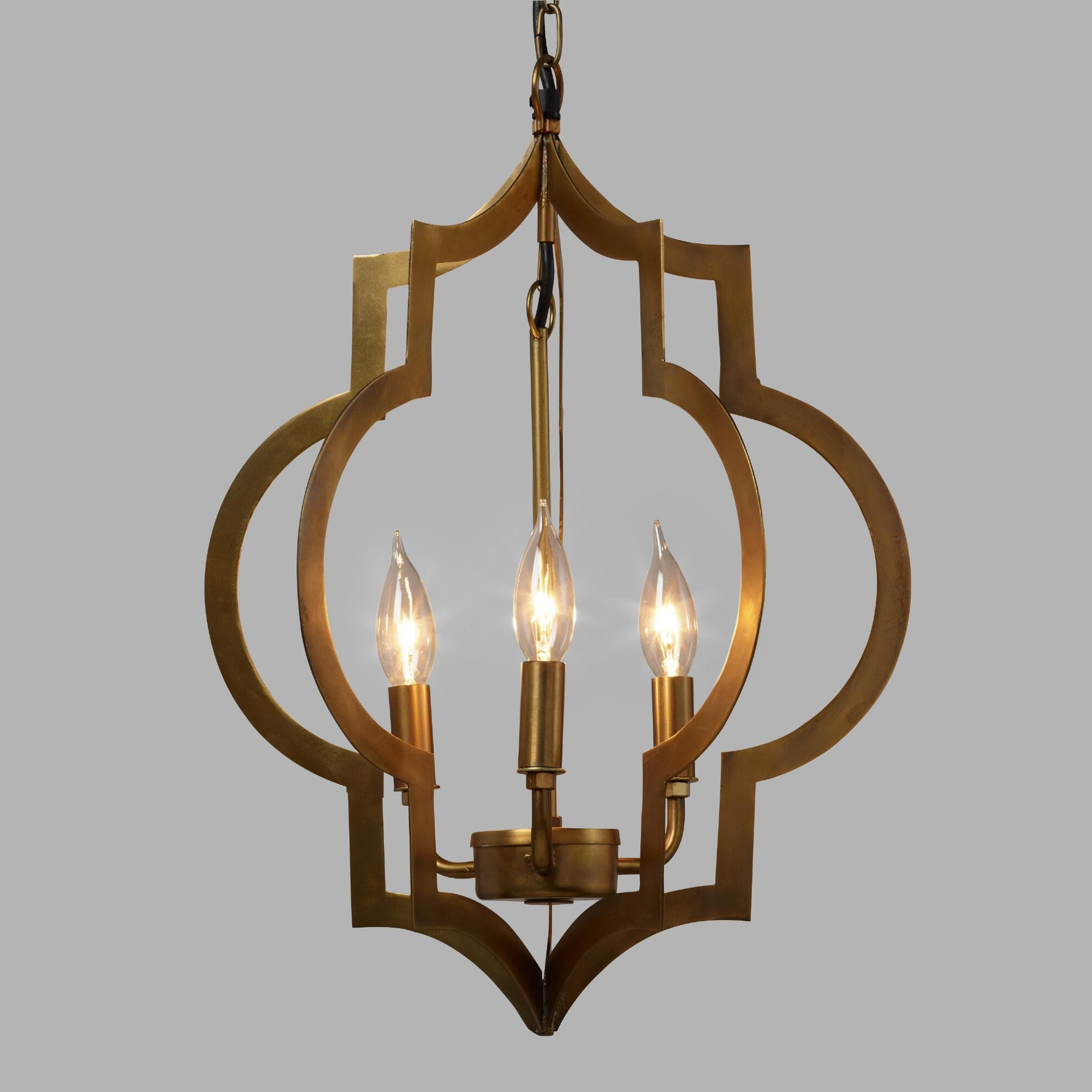 Our Moroccan Inspired Pendant Is Designed For Use With Three With Regard To Preferred Reidar 4 Light Geometric Chandeliers (View 14 of 25)