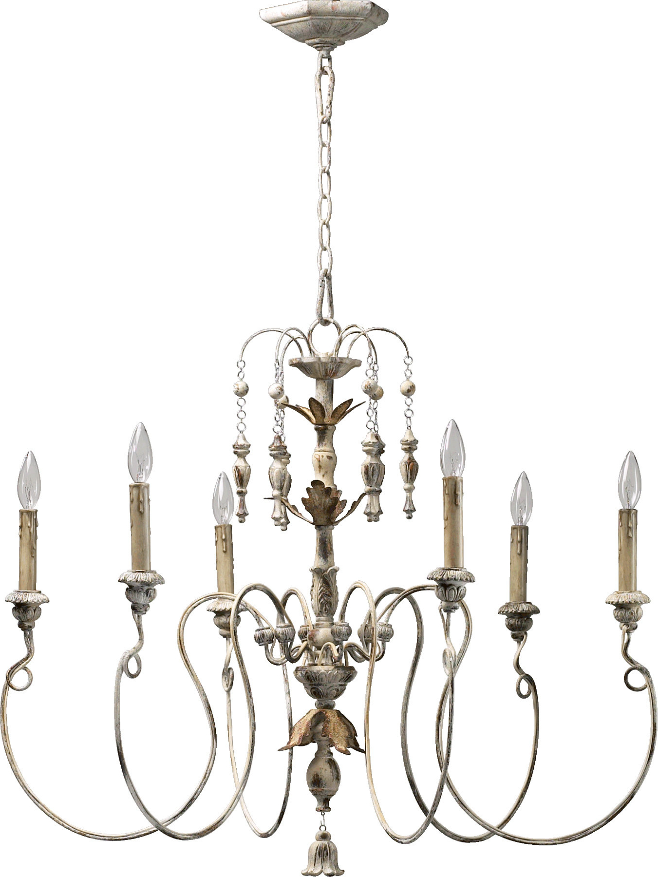 Paladino 6 Light Chandelier Inside Most Current Corneau 5 Light Chandeliers (View 8 of 25)