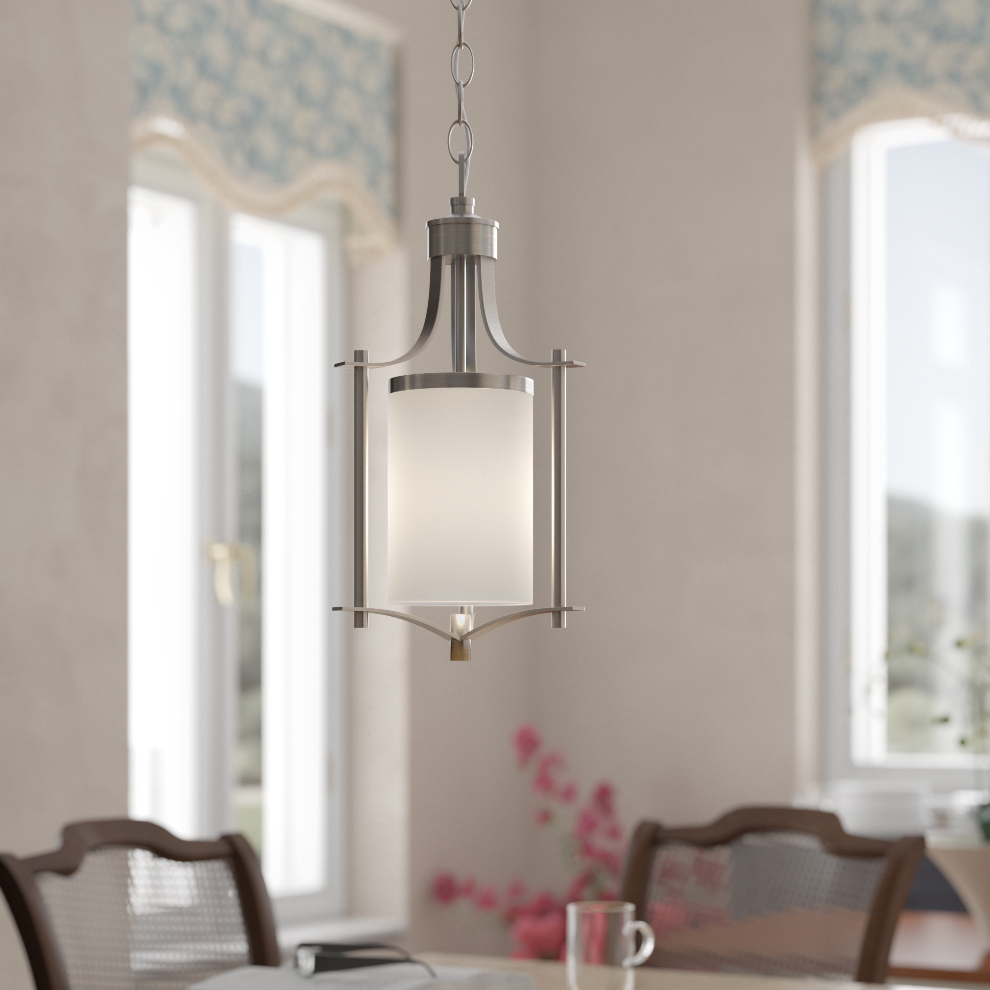 Pewter & Silver & Satin Nickel Pendant Lighting You'll Love Intended For Well Known Kimsey 1 Light Teardrop Pendants (View 24 of 25)