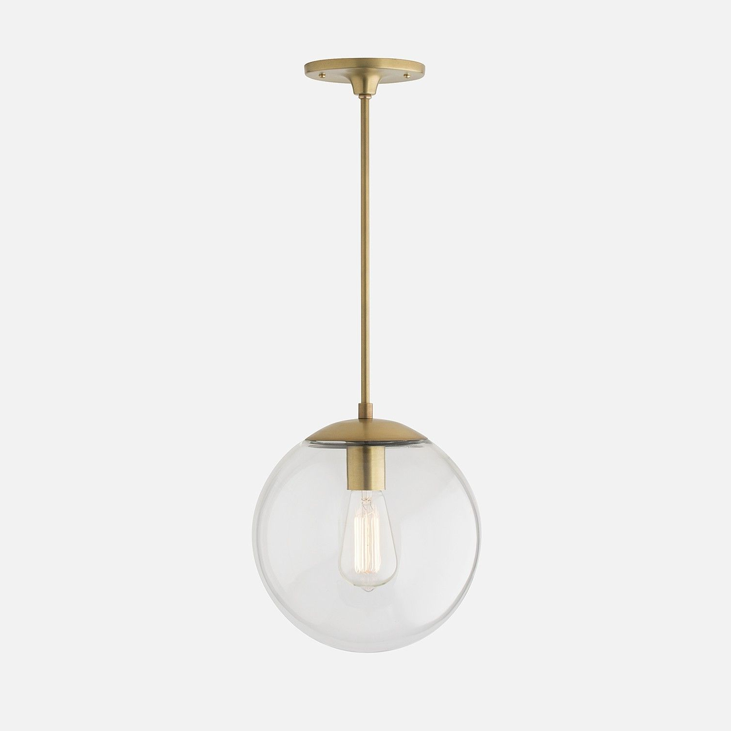 Pin On Schoolhouse Lighting Within Widely Used Gehry 1 Light Single Globe Pendants (View 17 of 25)