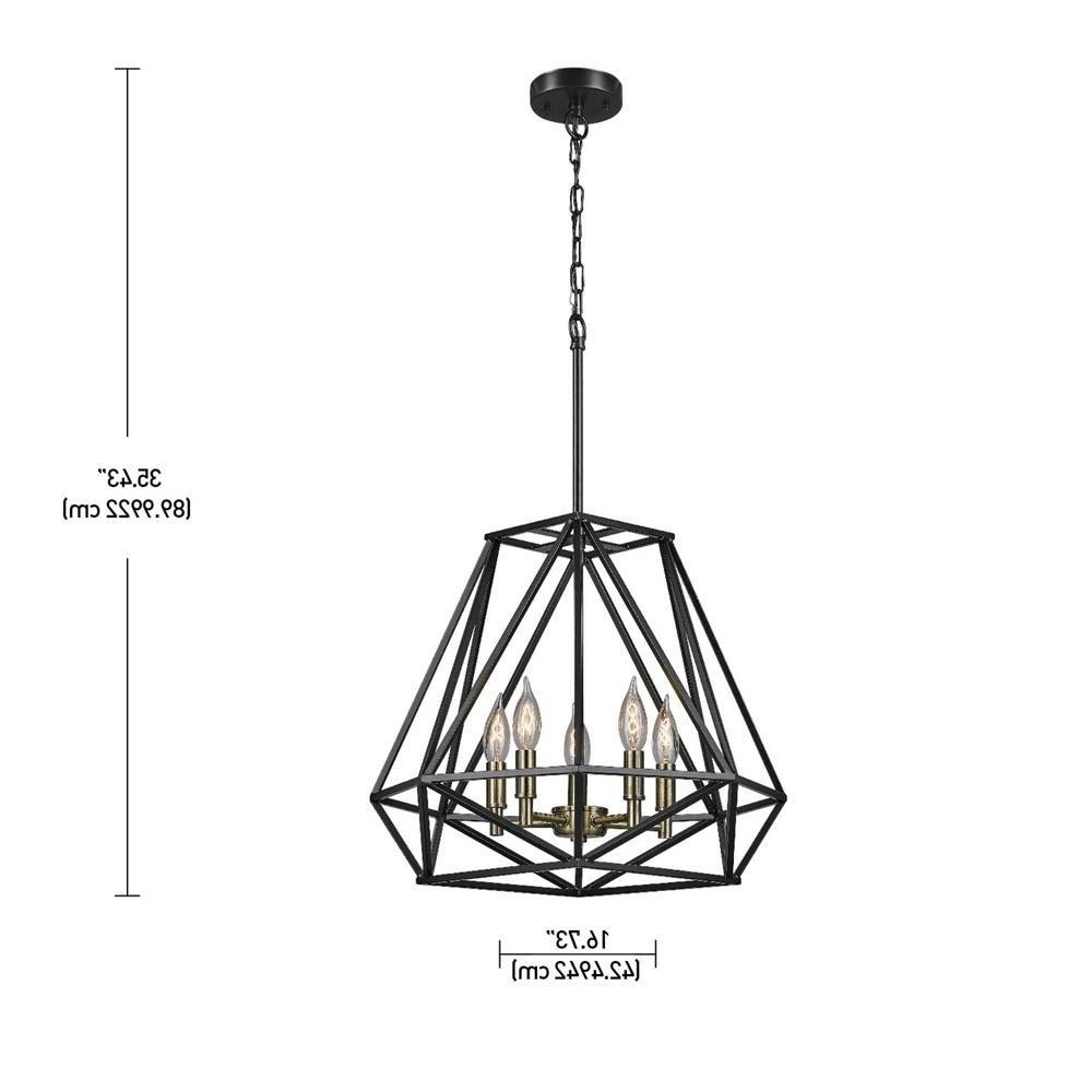 Pinterest – Пинтерест With Regard To Current Tabit 5 Light Geometric Chandeliers (View 24 of 25)