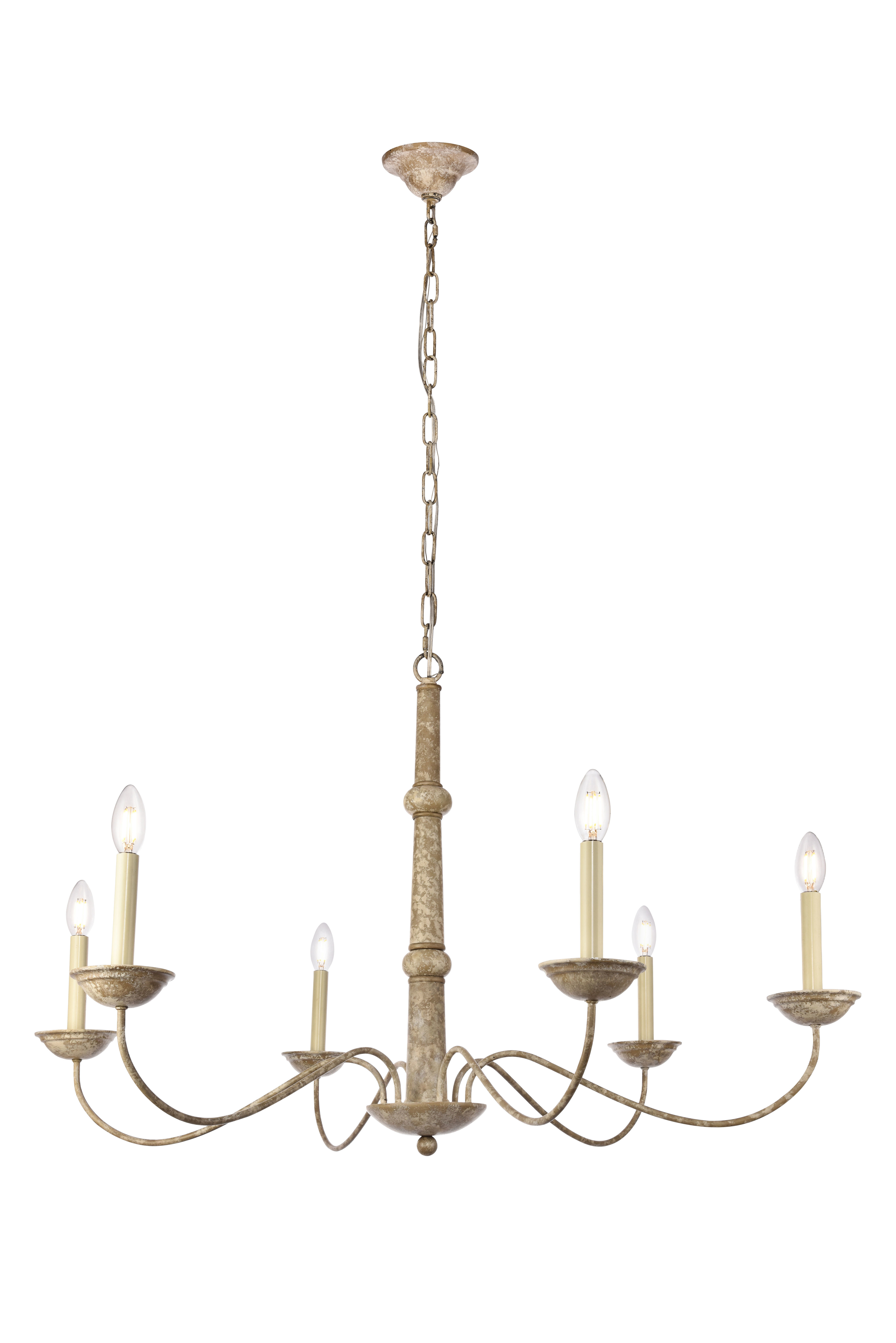 Popular Armande Candle Style Chandeliers Pertaining To Seneca 6 Light Candle Style Chandelier (View 6 of 25)