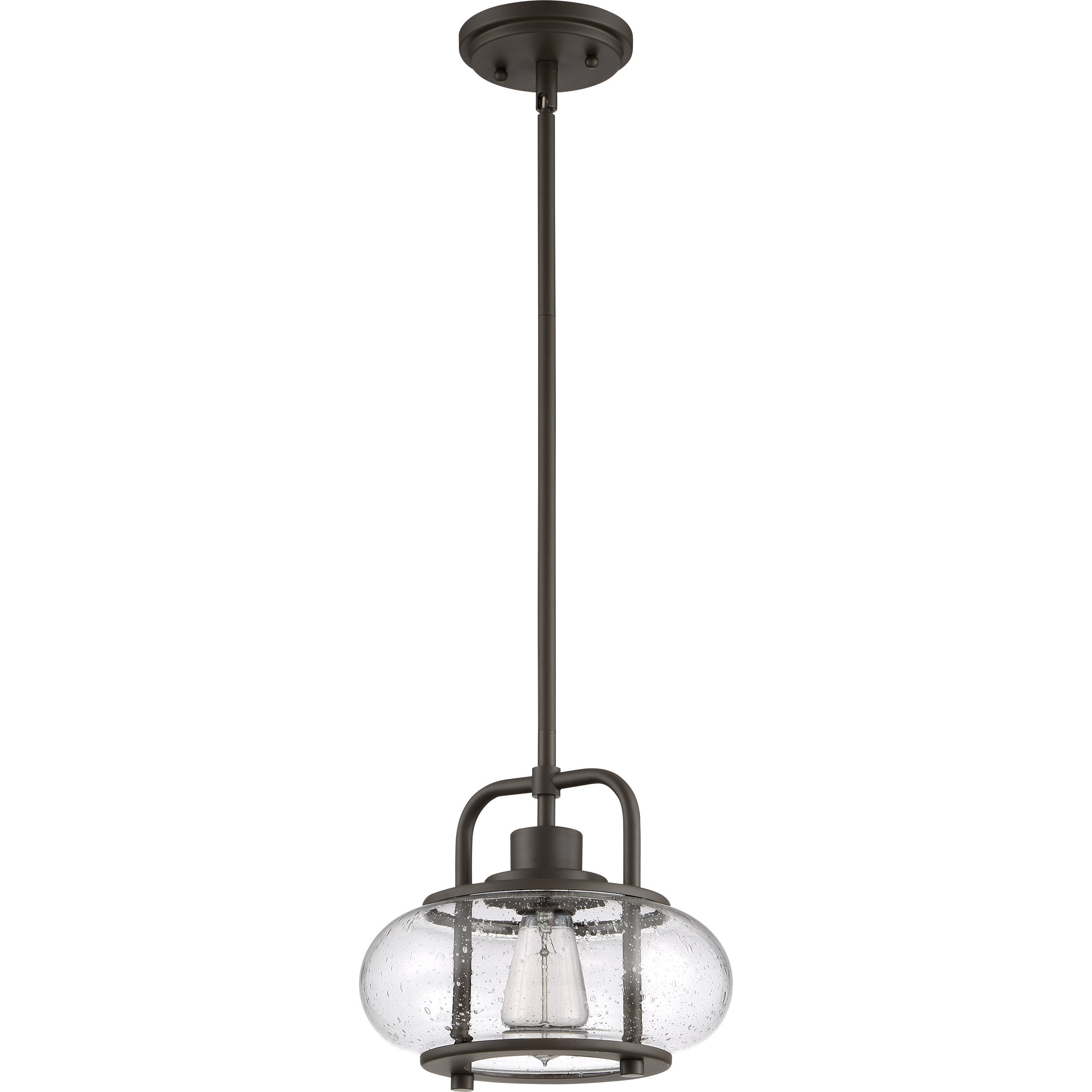 Popular Braxton 1 Light Single Schoolhouse Pendant Pertaining To Erico 1 Light Single Bell Pendants (View 19 of 25)