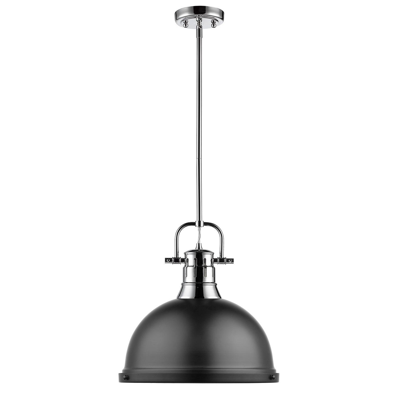 Popular Granville 2 Light Single Dome Pendants Regarding Beachcrest Home Bodalla 1 Light Single Dome Pendant (View 21 of 25)