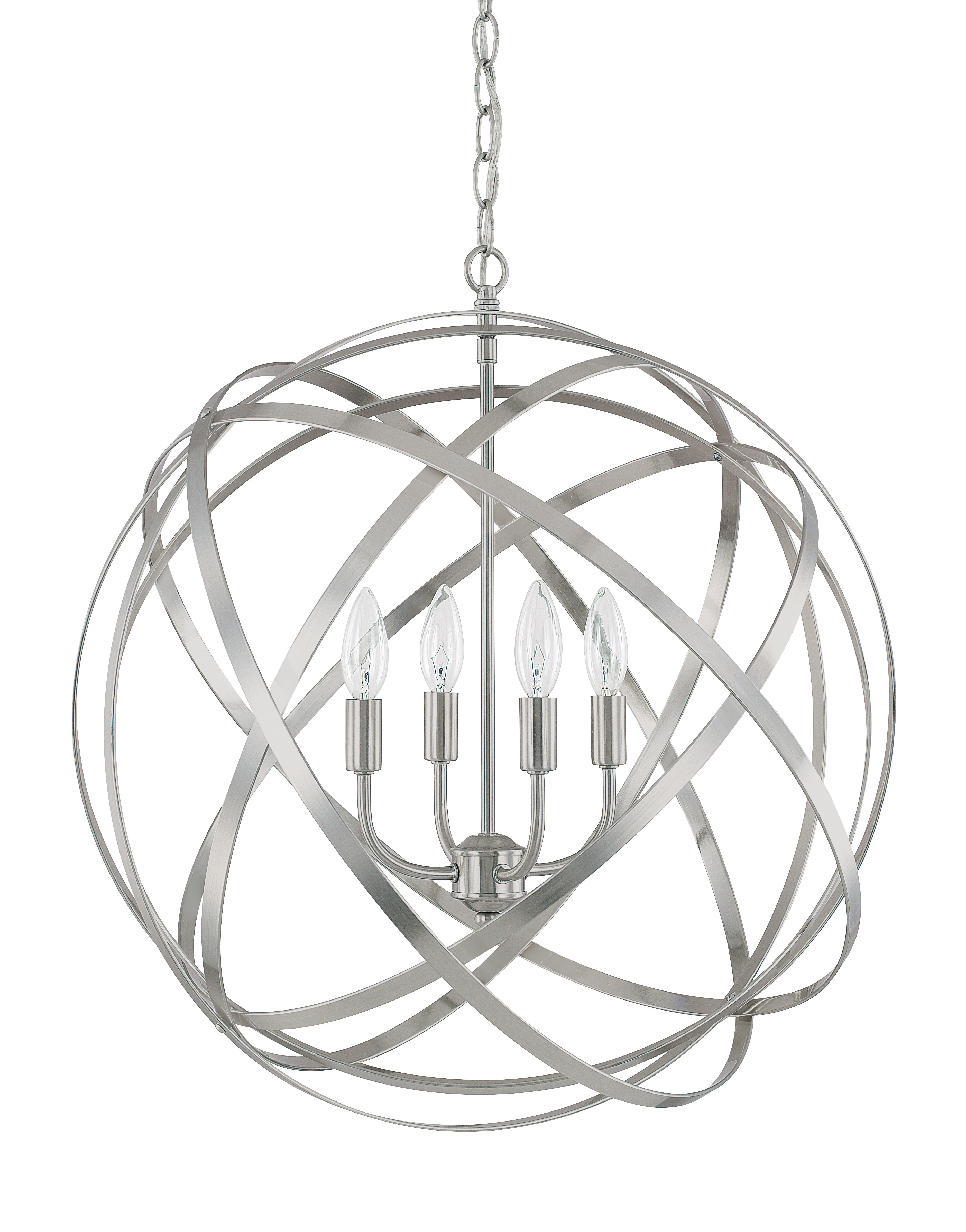Popular Kilby 1 Light Pendants In Kierra 4 Light Globe Pendant (View 16 of 25)