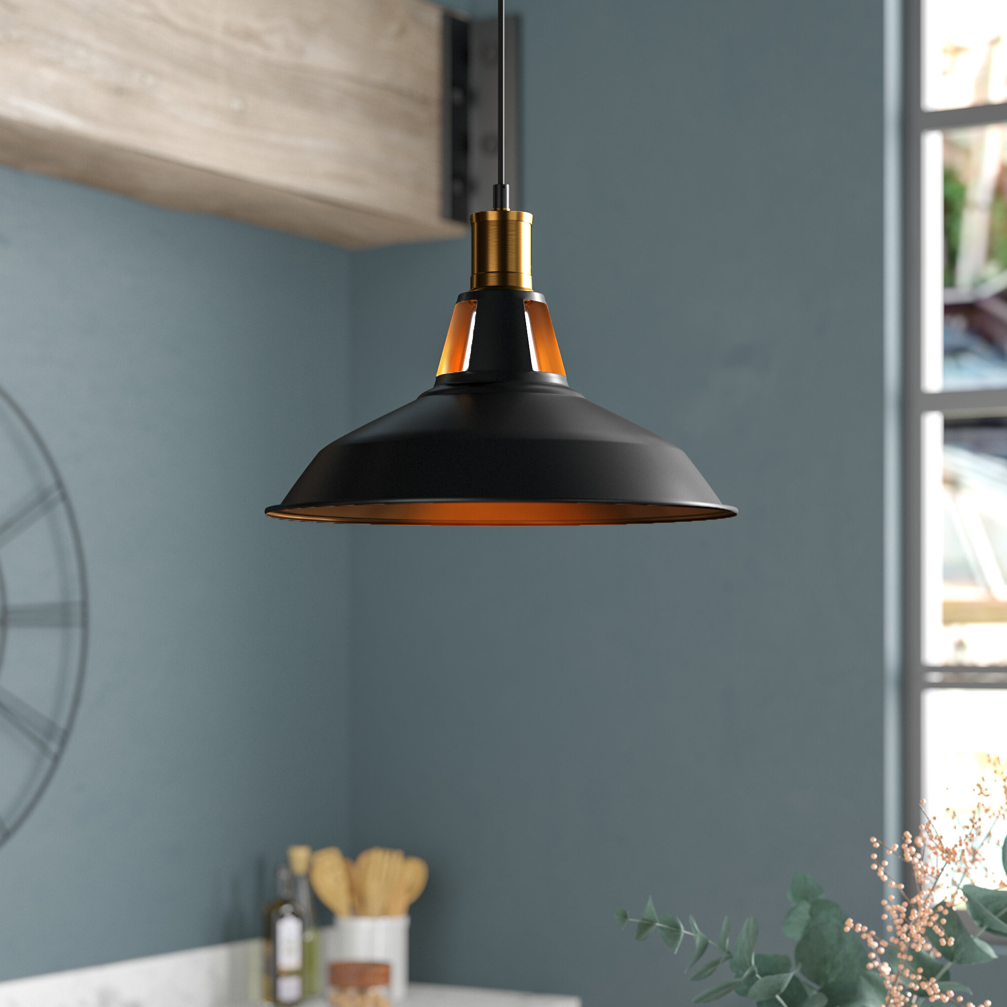 Popular Newhaven 1 Light Led Dome Pendant Pertaining To Gattis 1 Light Dome Pendants (View 8 of 25)