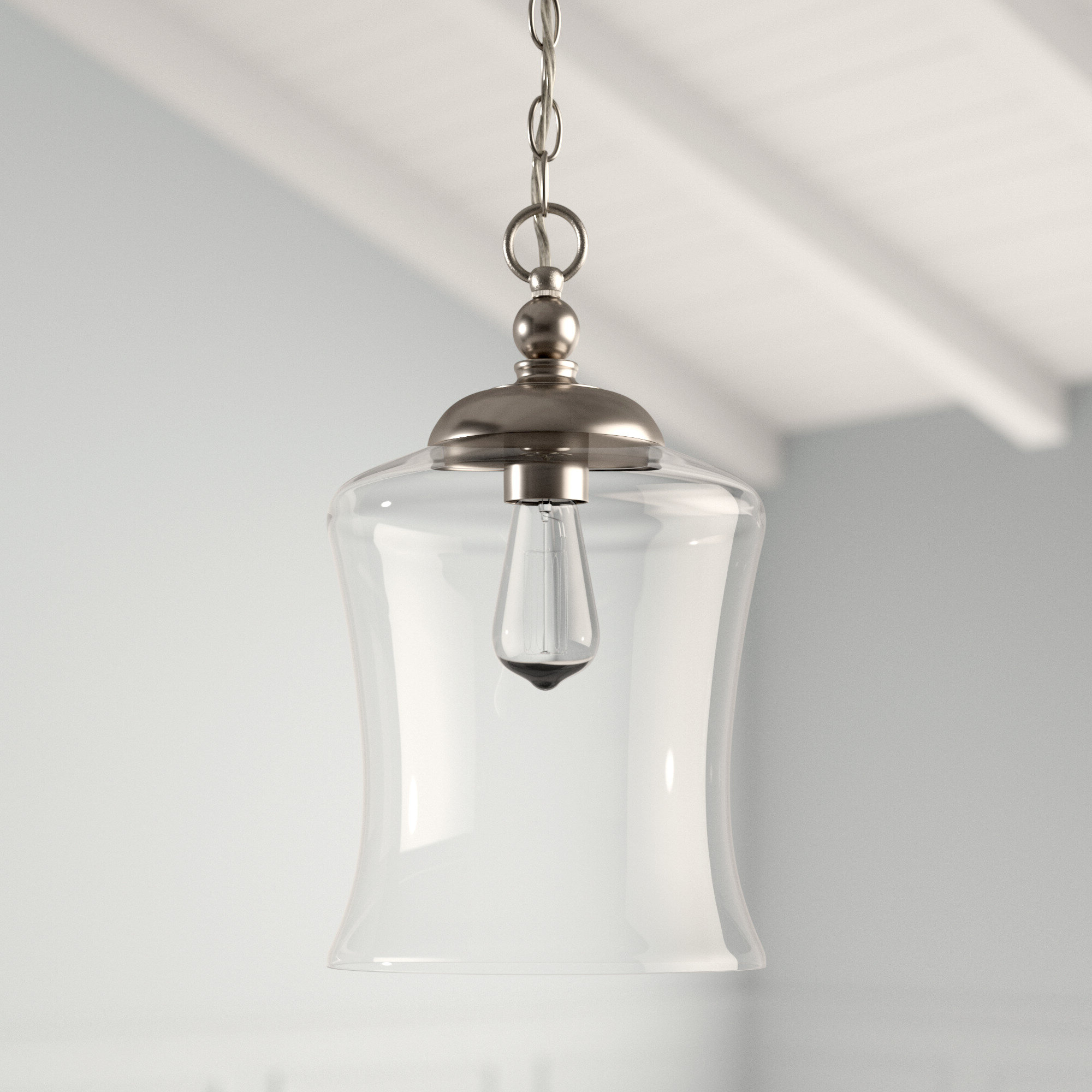 Popular Wentzville 1 Light Single Bell Pendant Inside Carey 1 Light Single Bell Pendants (View 21 of 25)