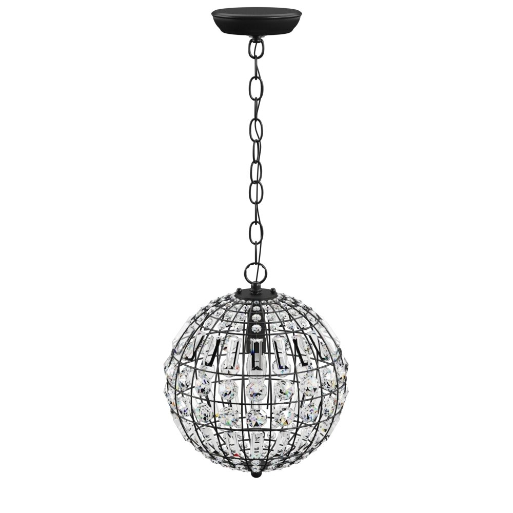 Preferred Alden 3 Light Single Globe Pendants With Elivra 1 Light Single Globe Pendant (View 23 of 25)