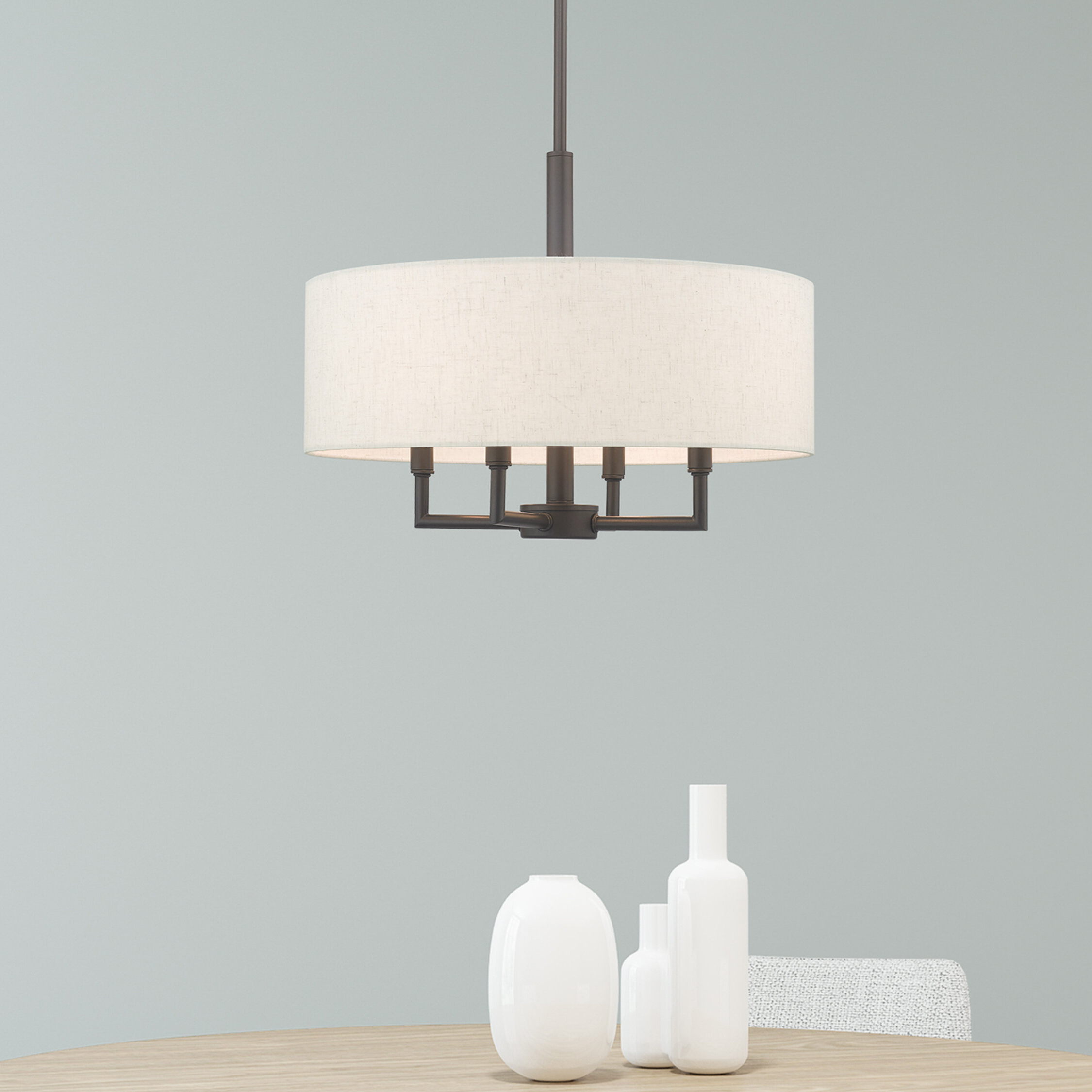 Preferred Alina 4 Light Drum Chandelier With Breithaup 4 Light Drum Chandeliers (View 13 of 25)