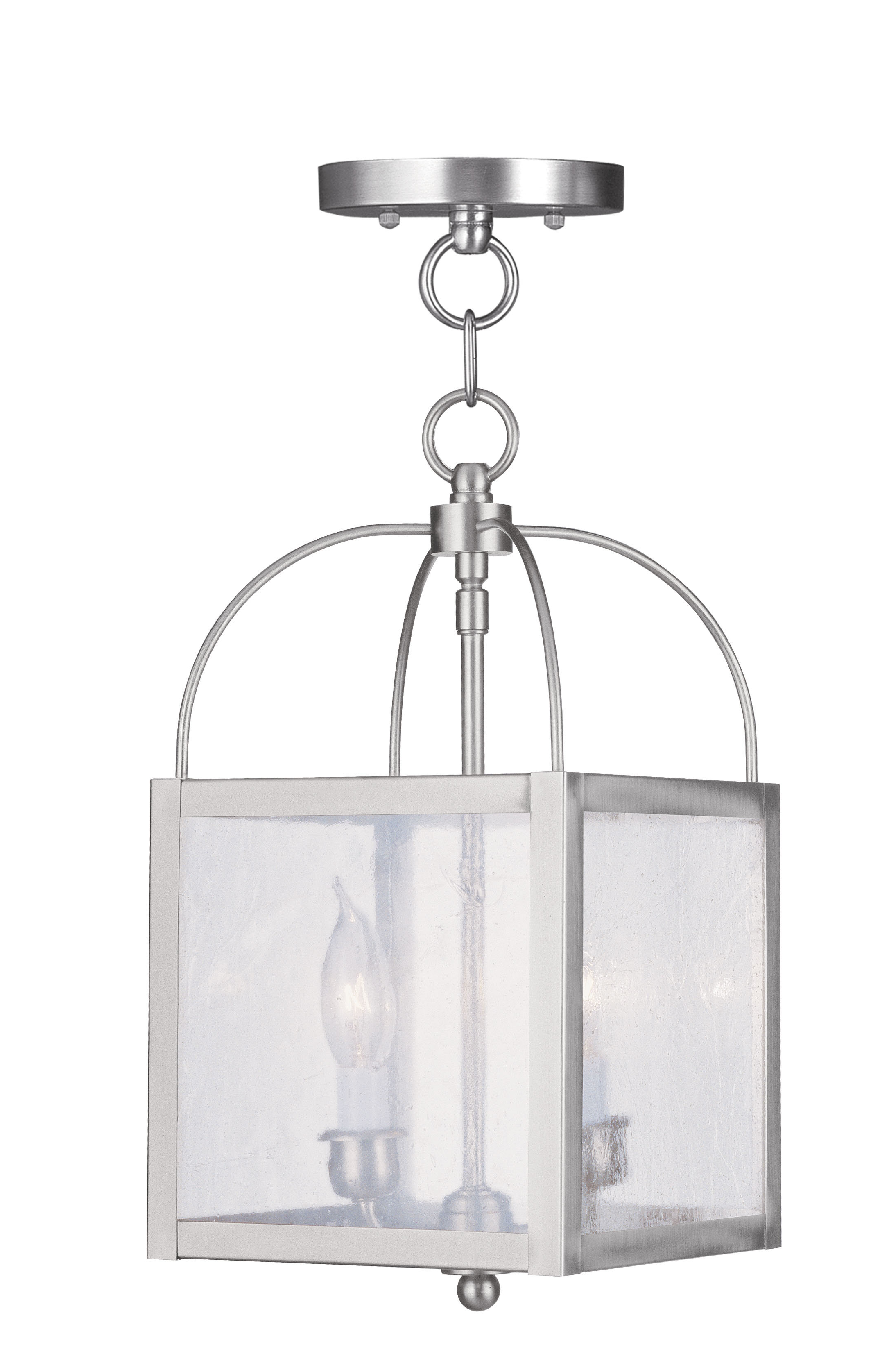 Preferred Brundidge 2 Light Lantern Square / Rectangle Pendant With Regard To Dilley 1 Light Unique / Statement Geometric Pendants (View 23 of 25)