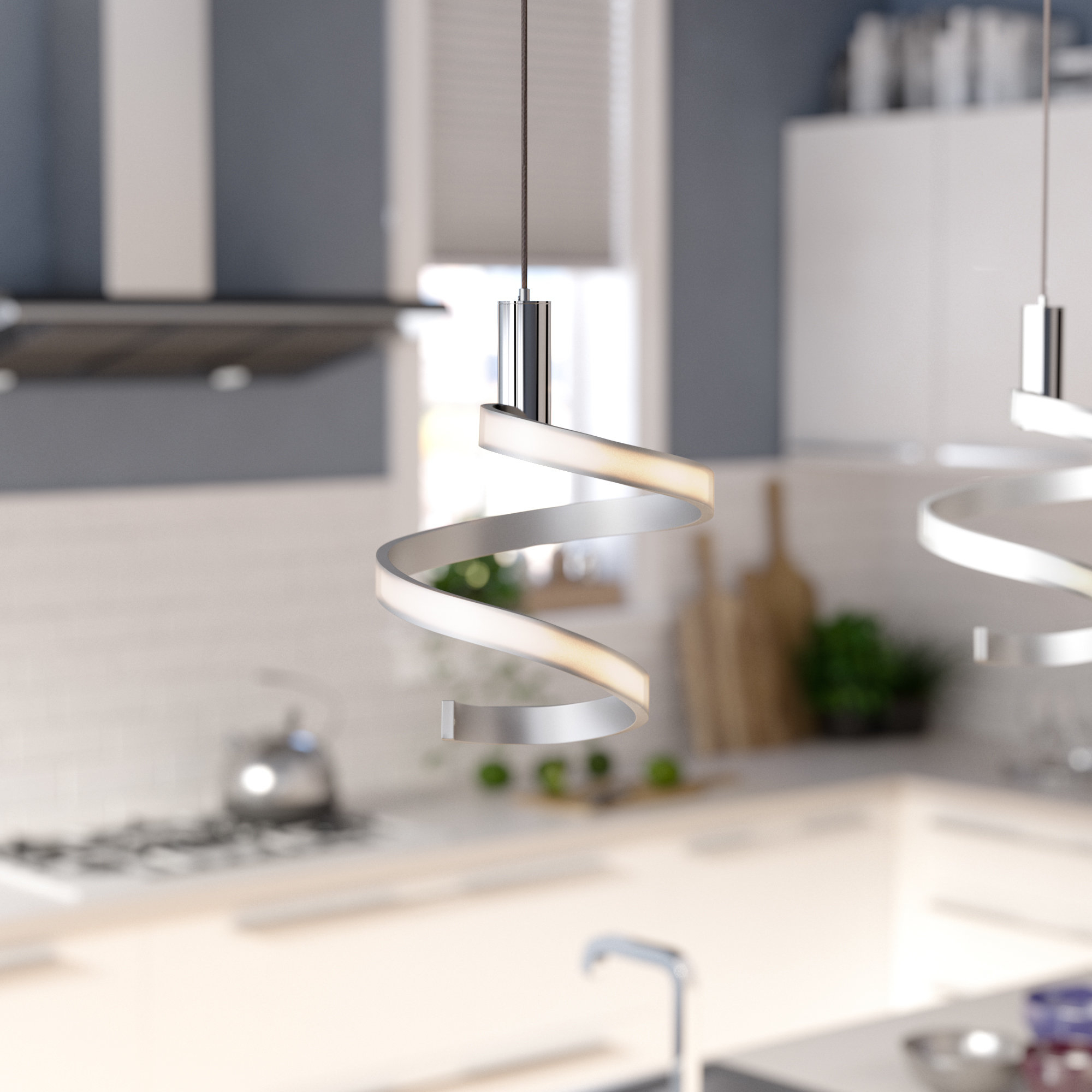 Preferred Callington 1 Light Led Single Geometric Pendants Inside Dormer 1 Light Led Novelty Pendant (View 16 of 25)