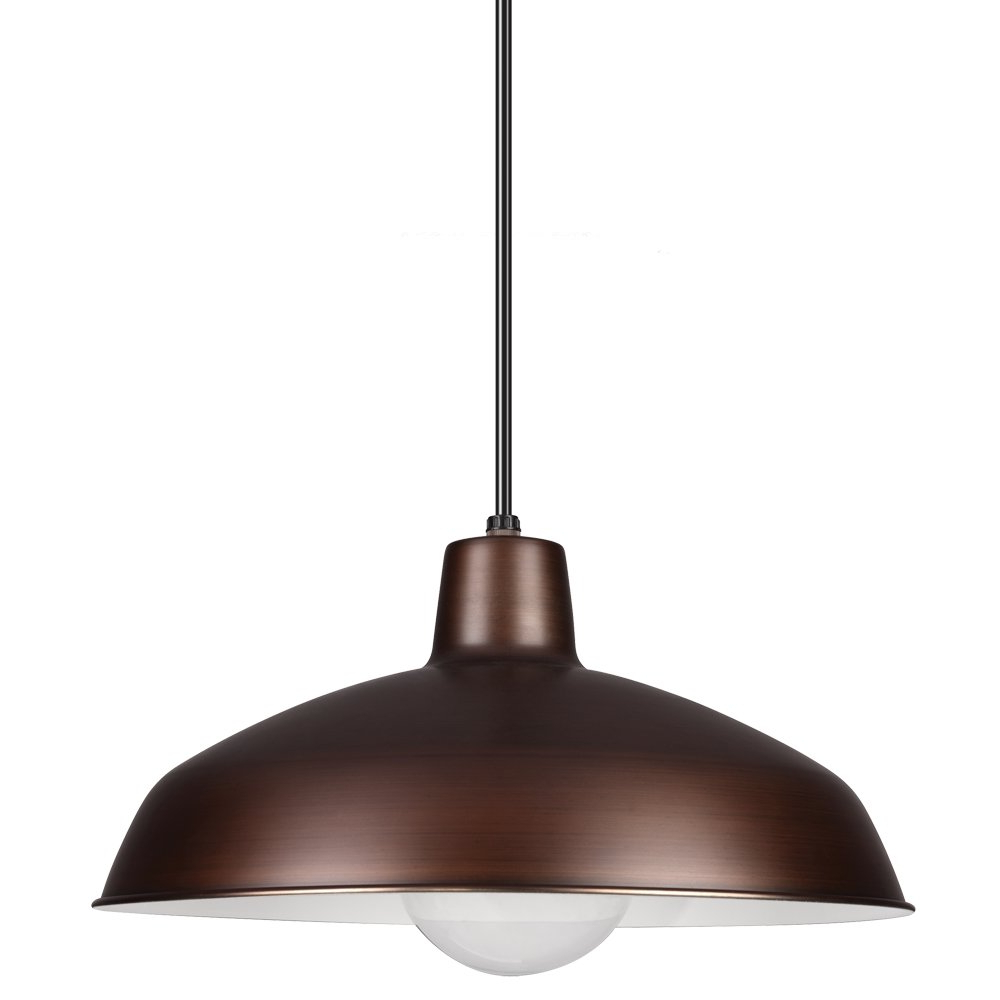 Preferred Gattis 1 Light Dome Pendants Within Mendelson 1 Light Dome Pendant (View 10 of 25)