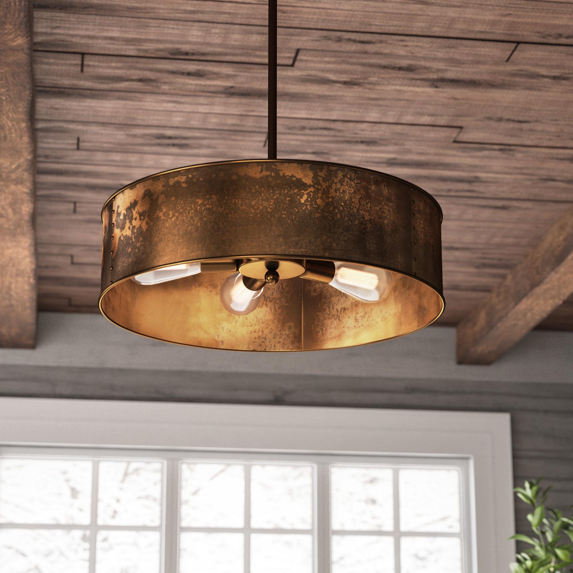 Preferred Vincent 4 Light Drum Chandelier Inside Vincent 5 Light Drum Chandeliers (View 4 of 25)