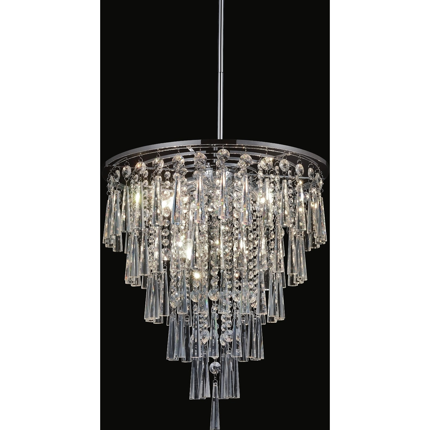 Products Inside Popular Benedetto 5 Light Crystal Chandeliers (View 13 of 25)