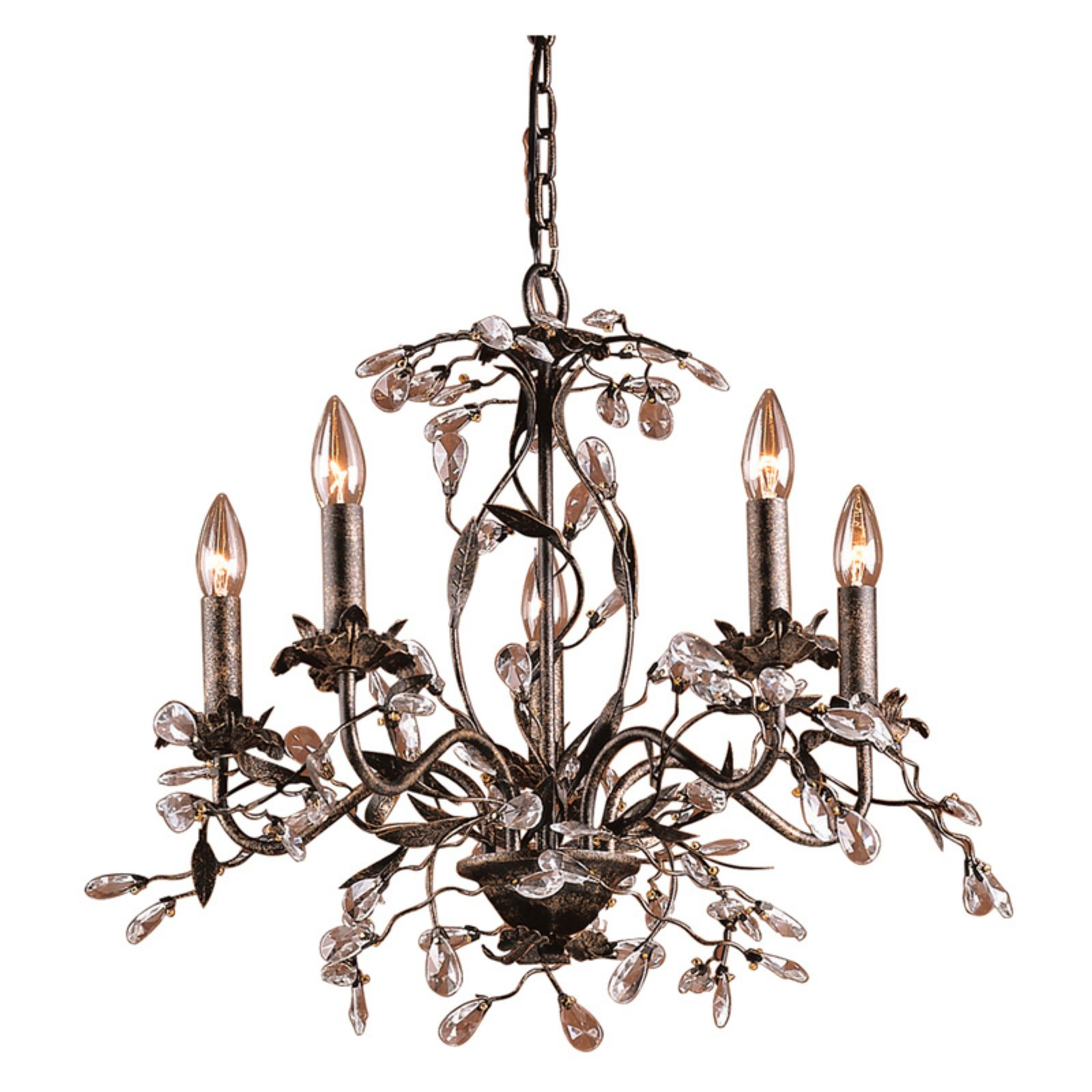 Products Intended For Most Recent Hesse 5 Light Candle Style Chandeliers (View 21 of 25)