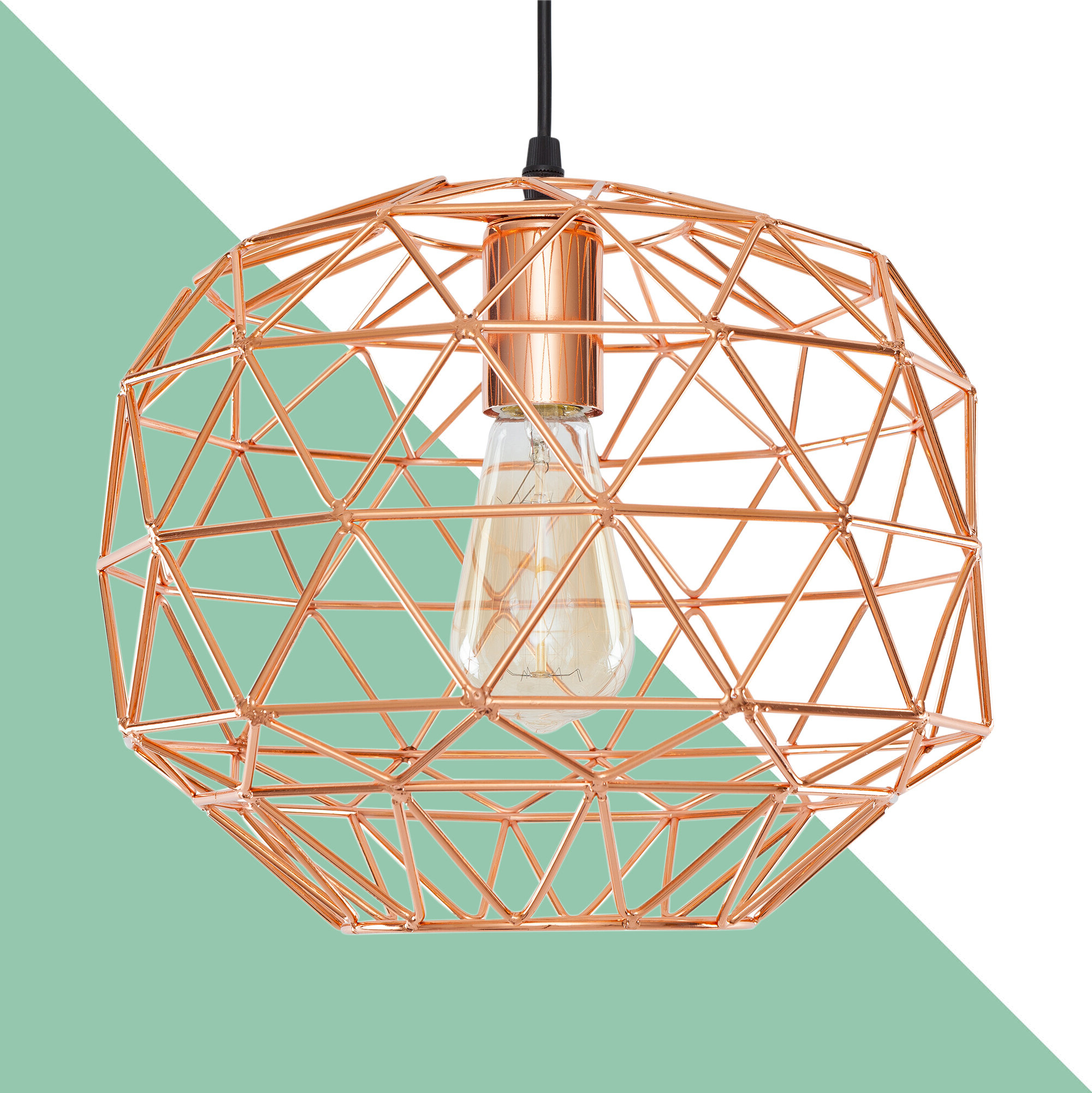 Profile 1 Light Lantern Geometric Pendant In Fashionable Louanne 1 Light Lantern Geometric Pendants (View 10 of 25)