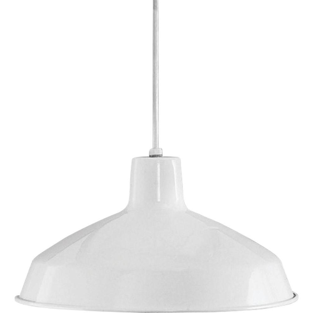 Progress Lighting 1 Light Brushed Nickel Led Pendant With For Preferred Gattis 1 Light Dome Pendants (View 17 of 25)