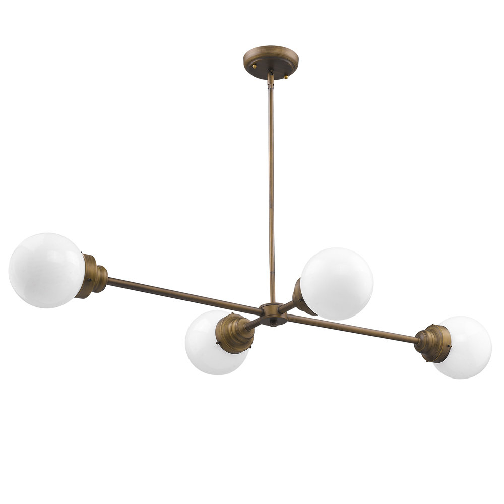 Rabehi 4-Light Sputnik Chandelier throughout Trendy Bautista 5-Light Sputnik Chandeliers