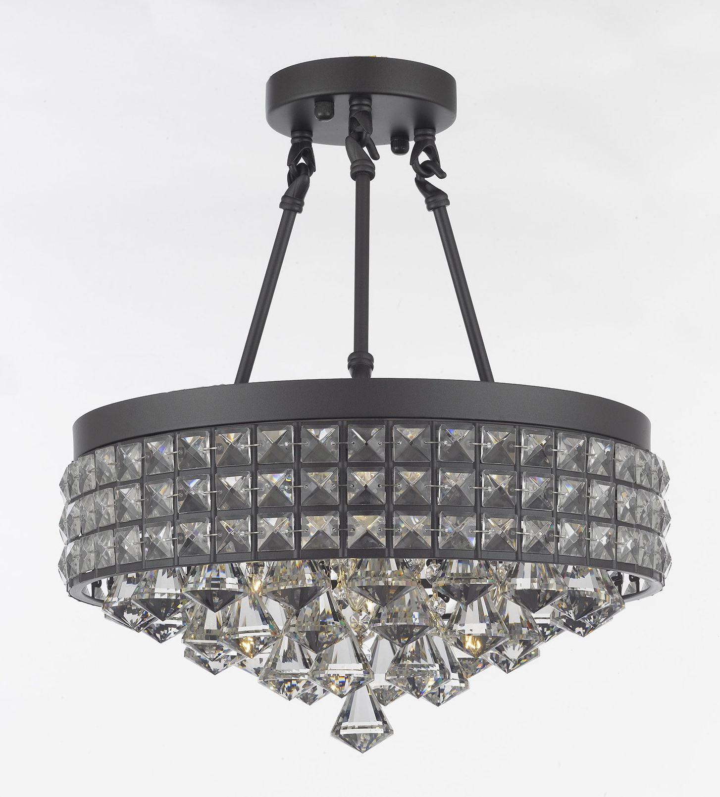 Recent Adriana 4 Light Crystal Chandelier With Aurore 4 Light Crystal Chandeliers (View 21 of 25)