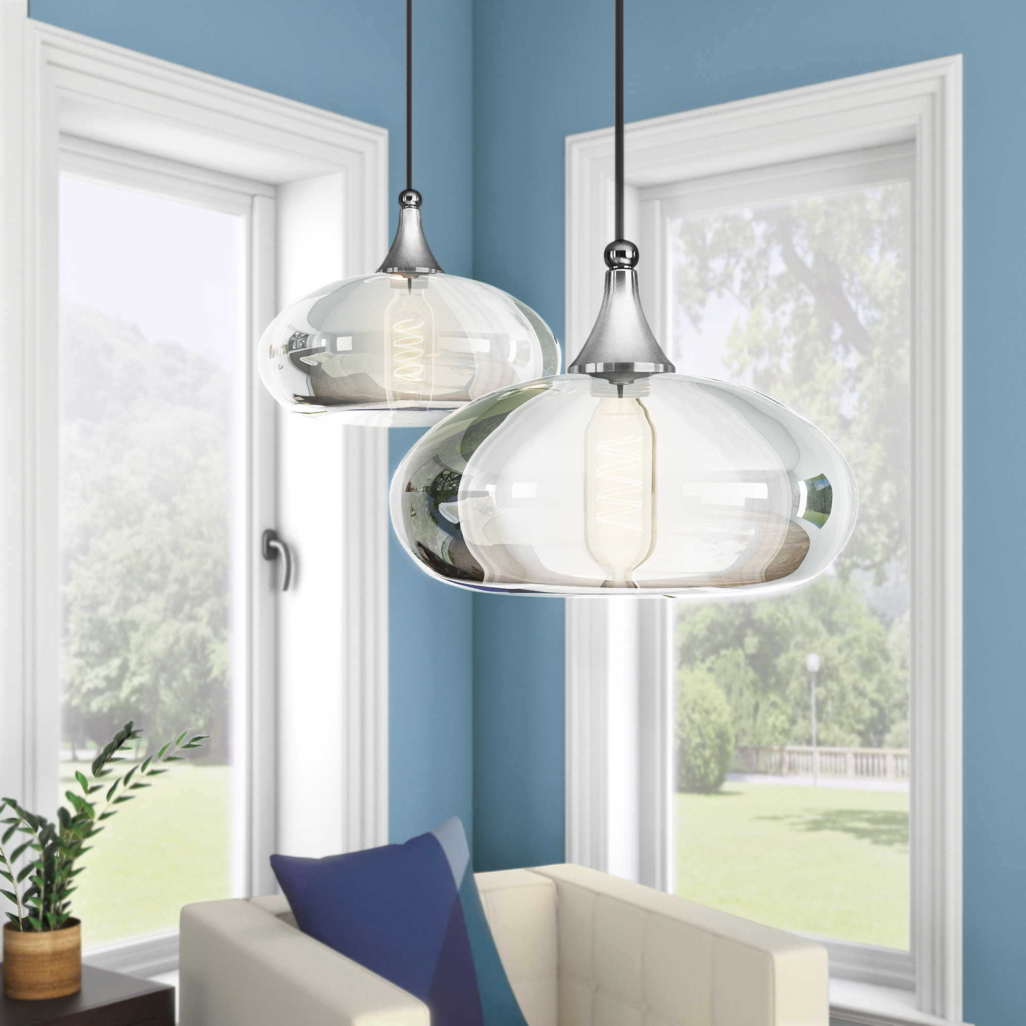 Recent Conard 1 Light Single Teardrop Pendants With Wrought Studio Scalf 1 Light Teardrop Pendant & Reviews (View 10 of 25)