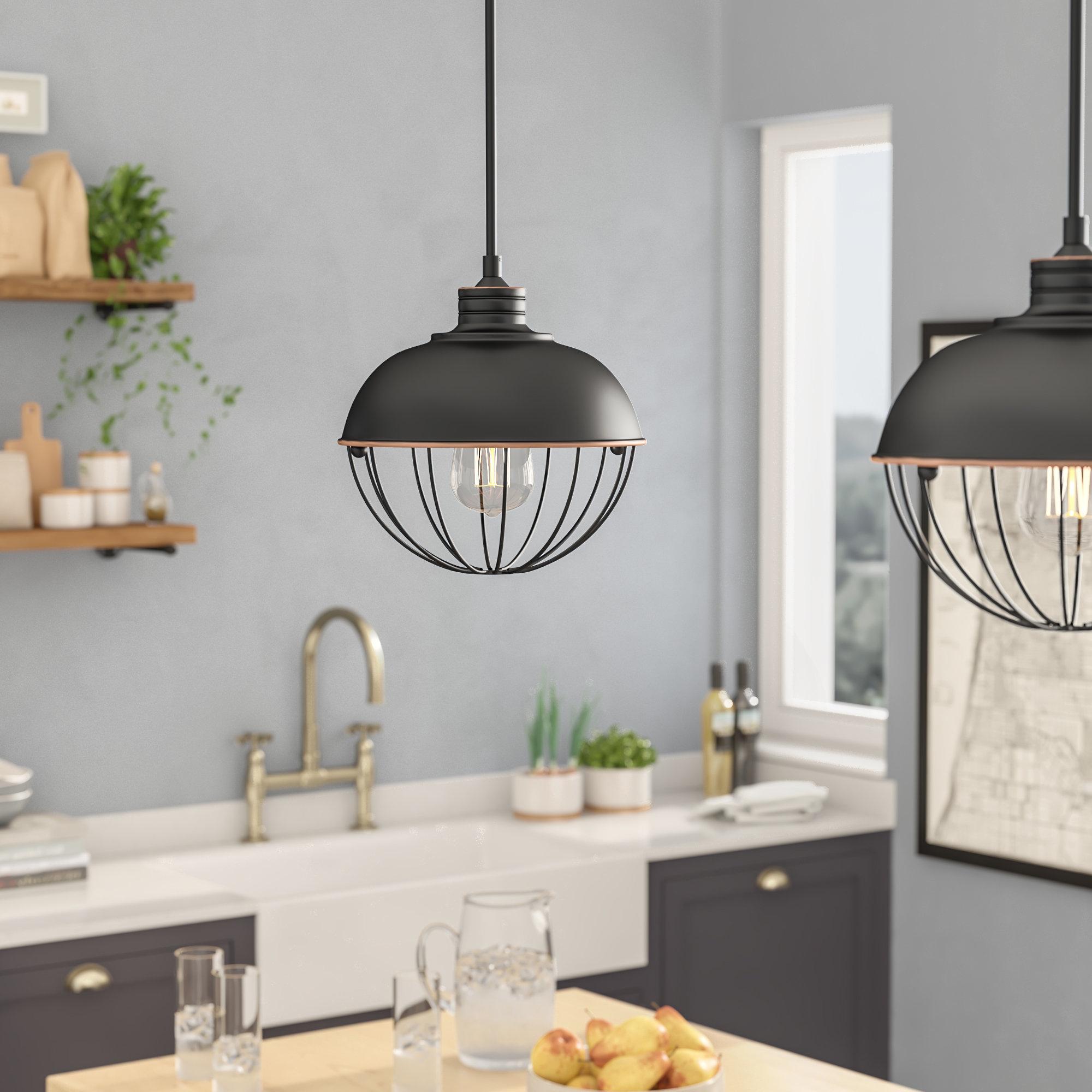 Recent Demi 1 Light Globe Pendants Regarding Demi Vintage Edison 1 Light Pendant (View 2 of 25)