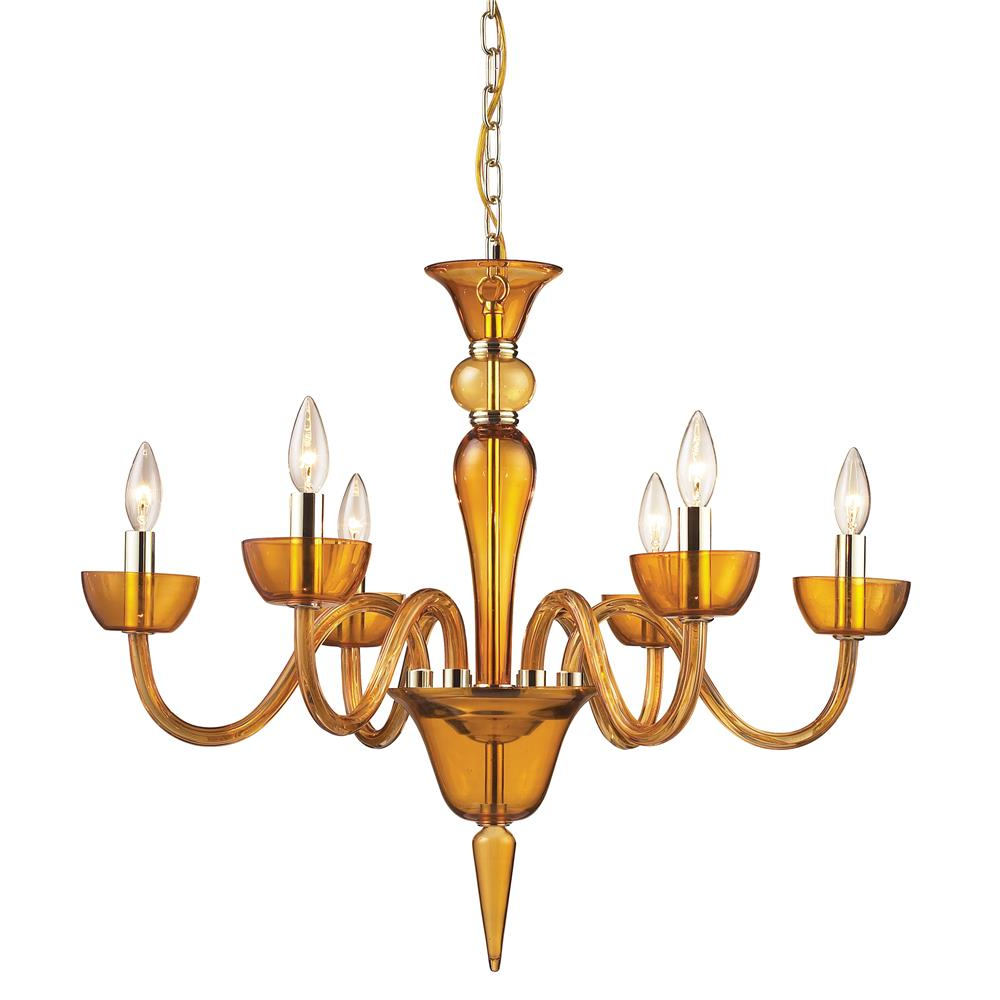 Recent Elk Lighting Ceiling Lighting Style: Williamsburg In Bennington 6 Light Candle Style Chandeliers (View 22 of 25)