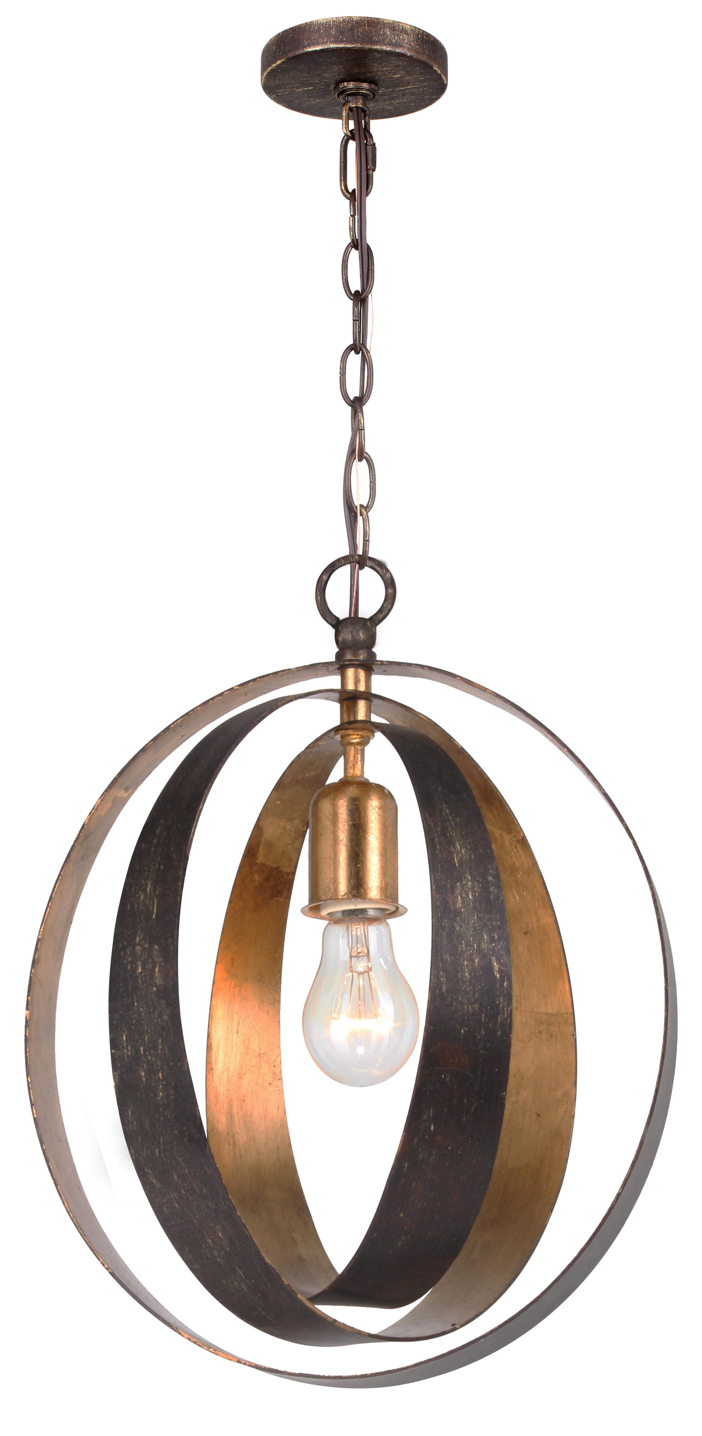 Recent Irwin 1-Light Single Globe Pendants with regard to Mason 1-Light Pendant