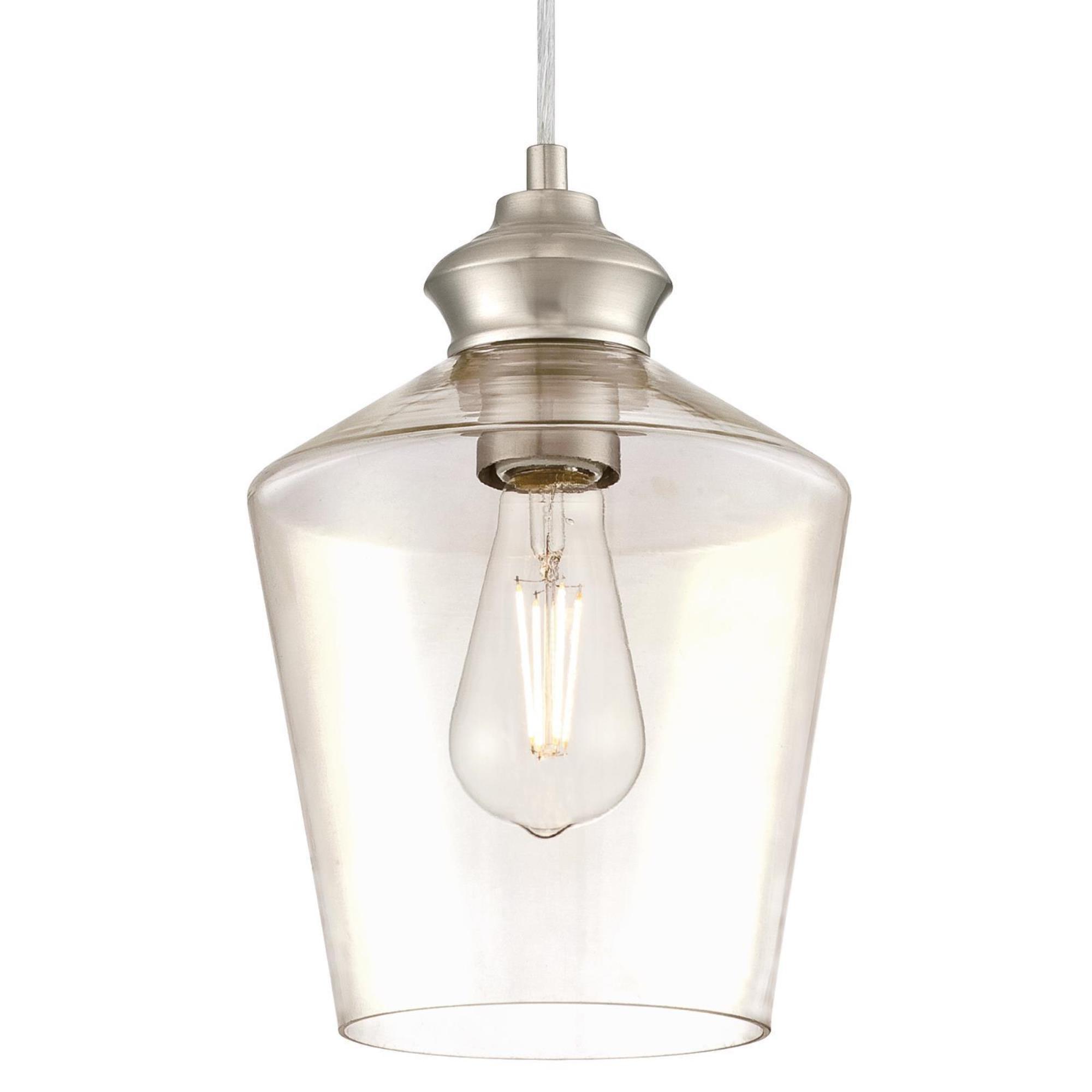 Recent Nolan 1 Light Lantern Chandeliers For Rooker 1 Light Cone Pendant (View 13 of 25)