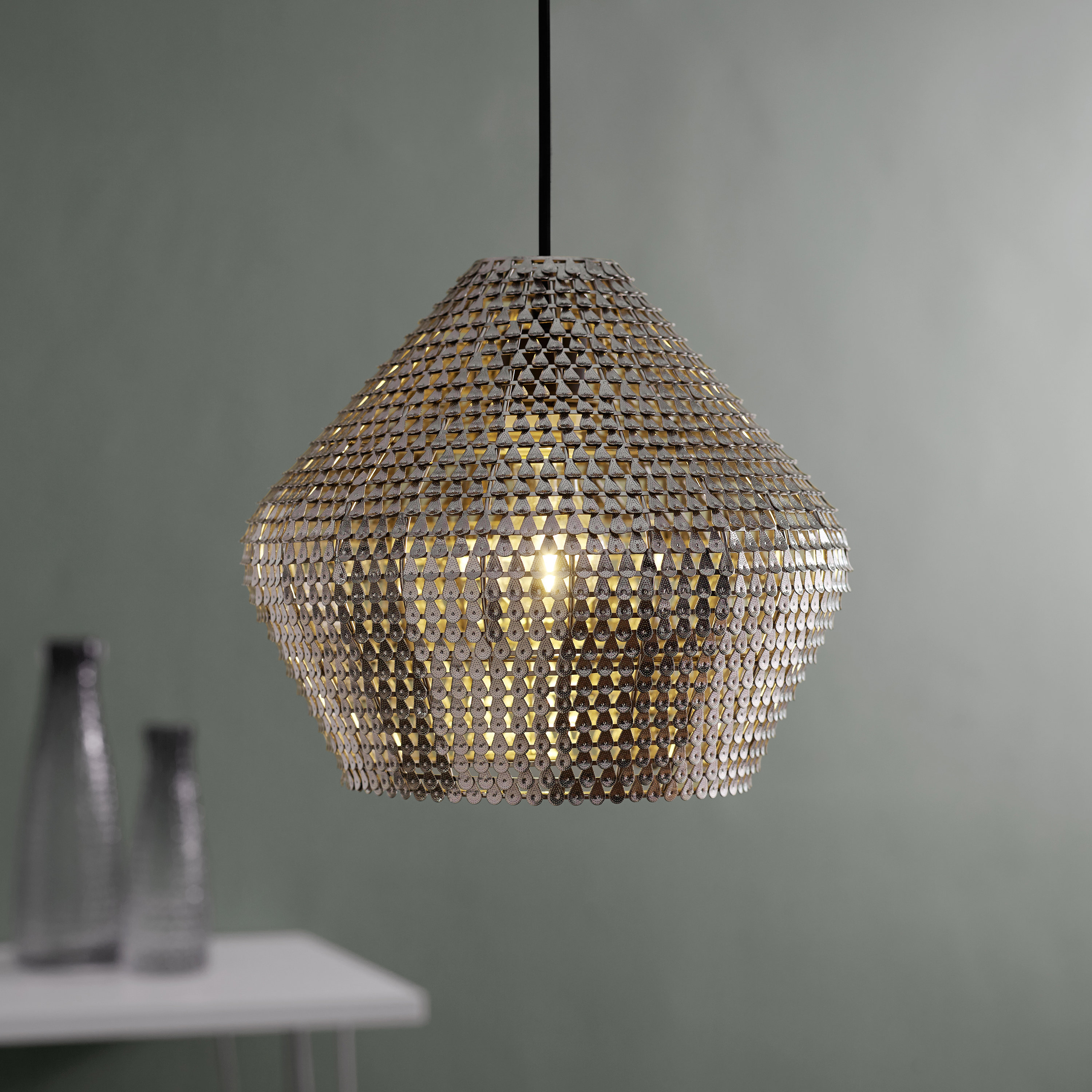 Recent Nowell 1 Light Geometric Pendant Throughout Scruggs 1 Light Geometric Pendants (View 6 of 25)