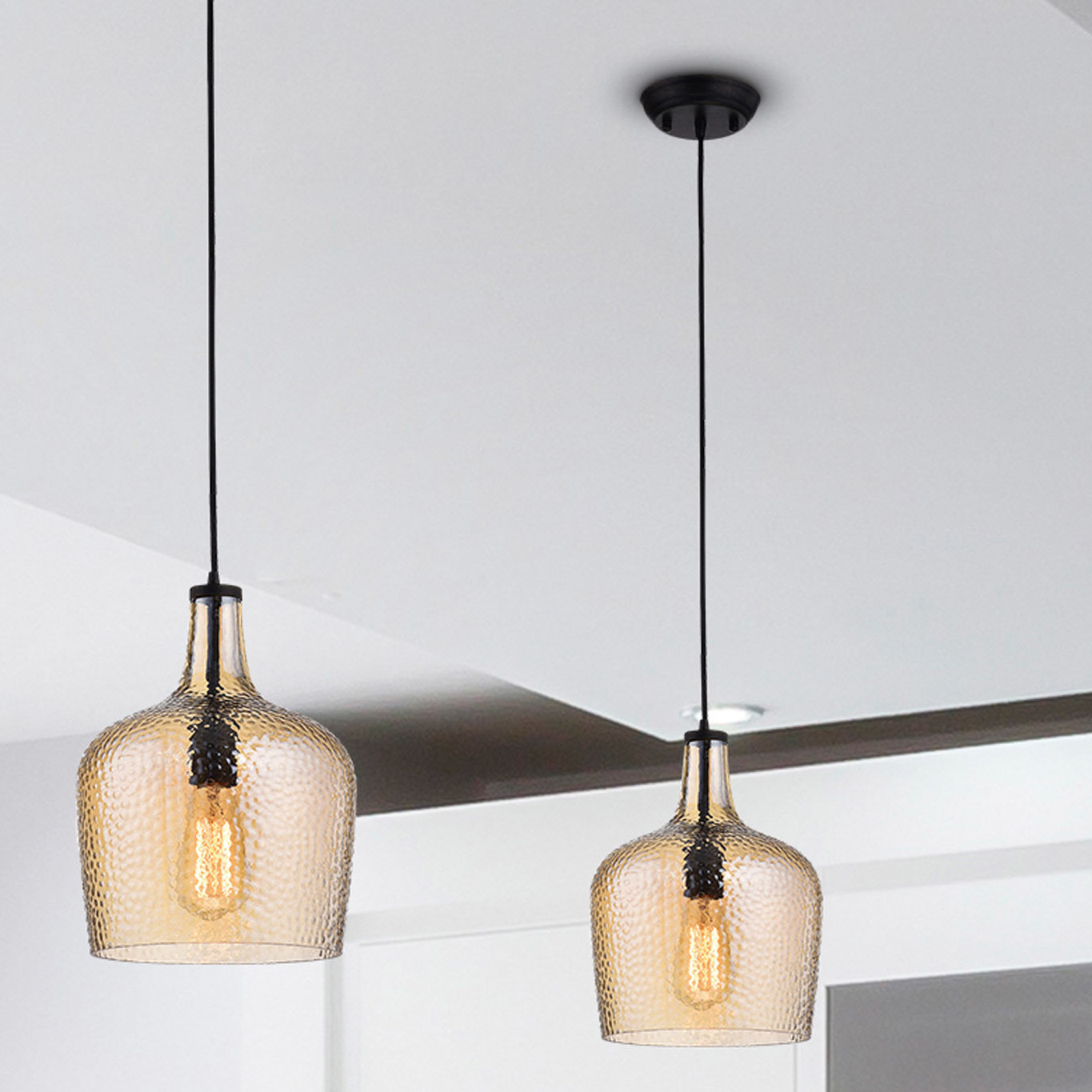 Recent Scruggs 1 Light Geometric Pendants Throughout Williston Forge Scruggs 1 Light Geometric Pendant & Reviews (View 2 of 25)