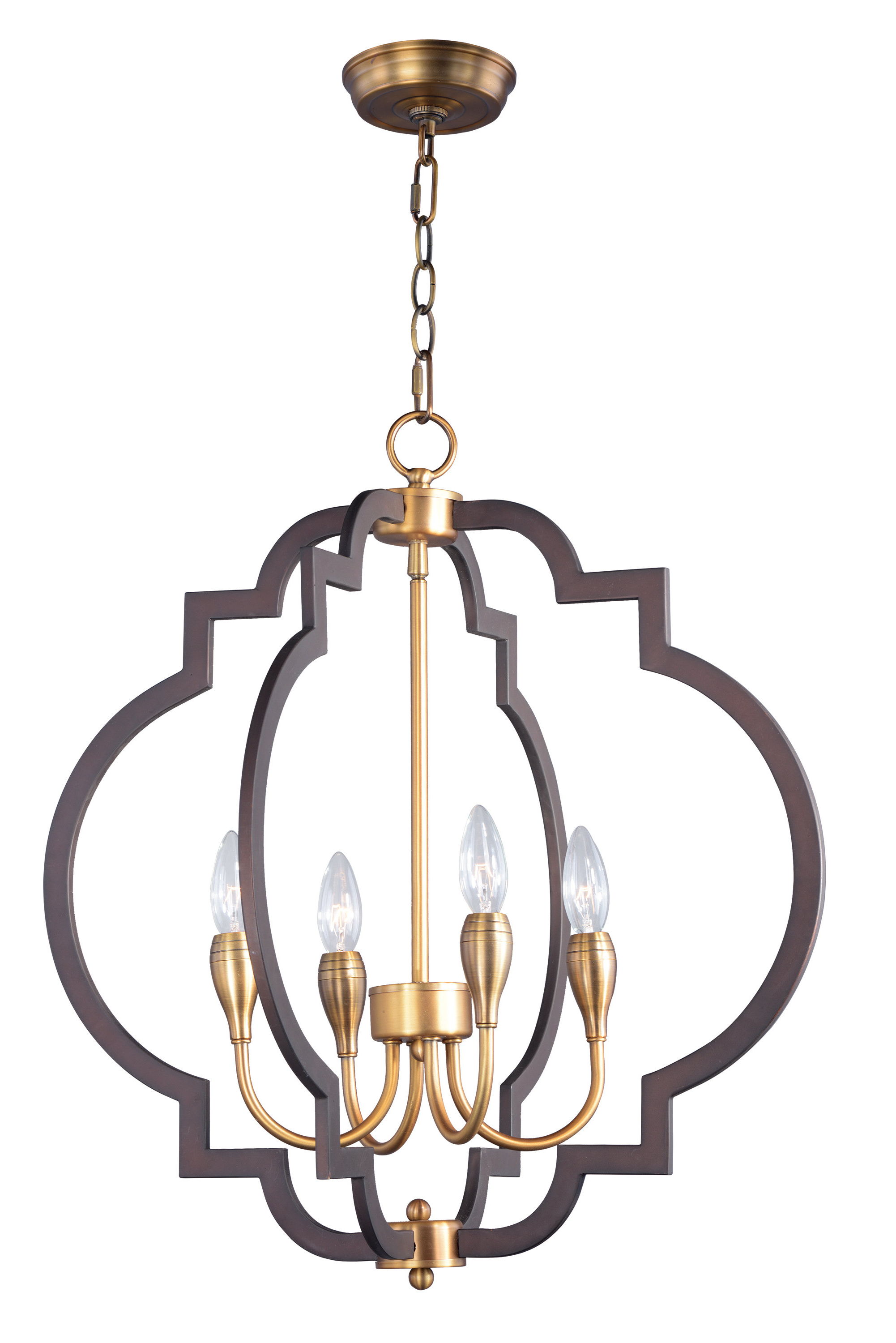 Reidar 4 Light Geometric Chandeliers With Newest Farmhouse & Rustic Geometric Chandeliers (View 12 of 25)
