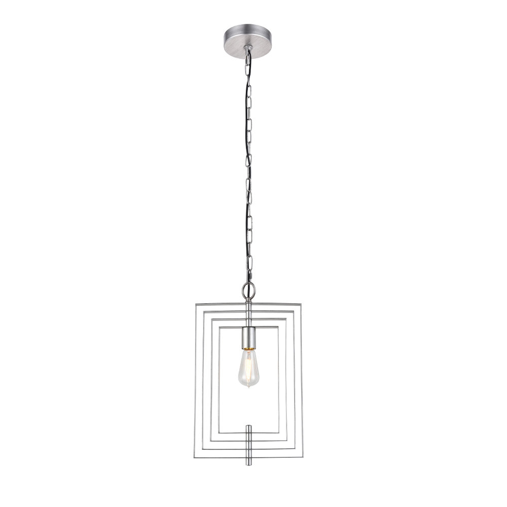 Robblee 4-Light Geometric Pendants with Favorite Akash Industrial Vintage 1-Light Geometric Pendant