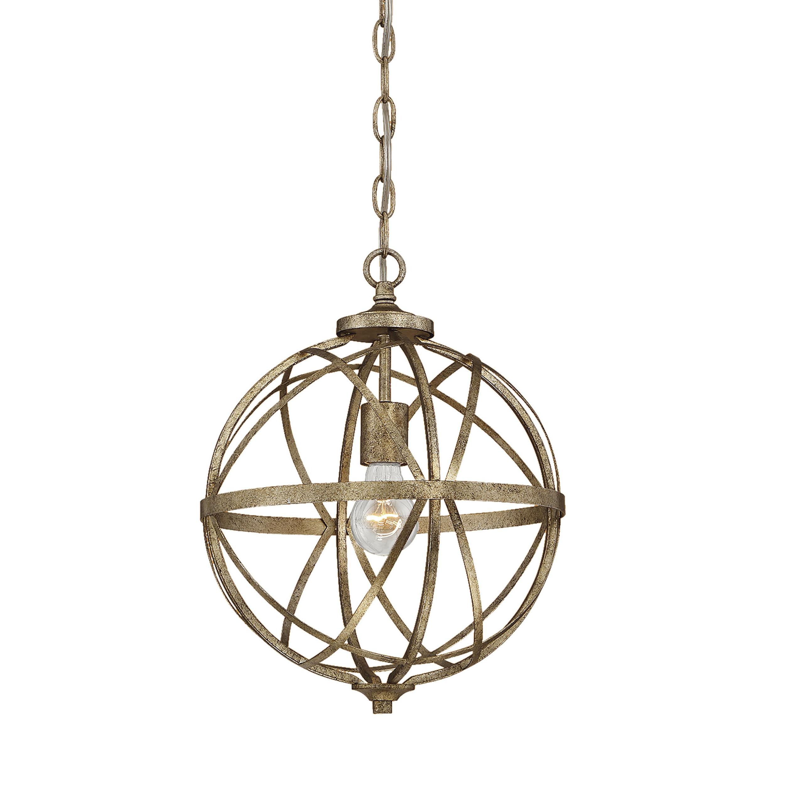 Rodden 1-Light Single Globe Pendant with Preferred Irwin 1-Light Single Globe Pendants