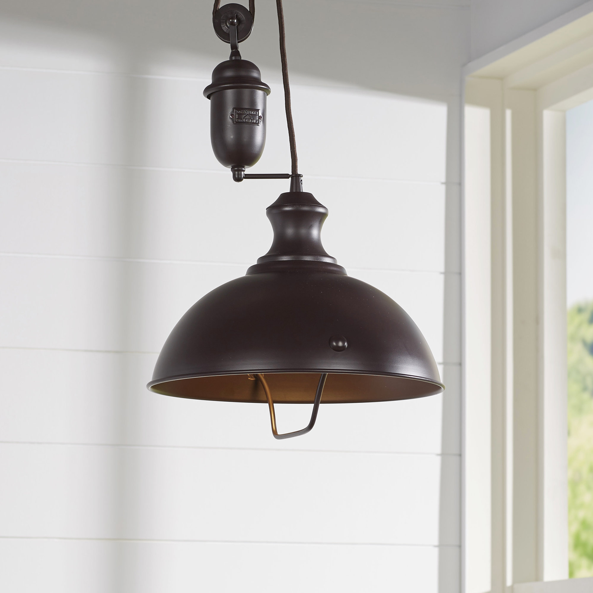 Rodriques 1 Light Bowl Pendant With Most Popular Stetson 1 Light Bowl Pendants (View 14 of 25)